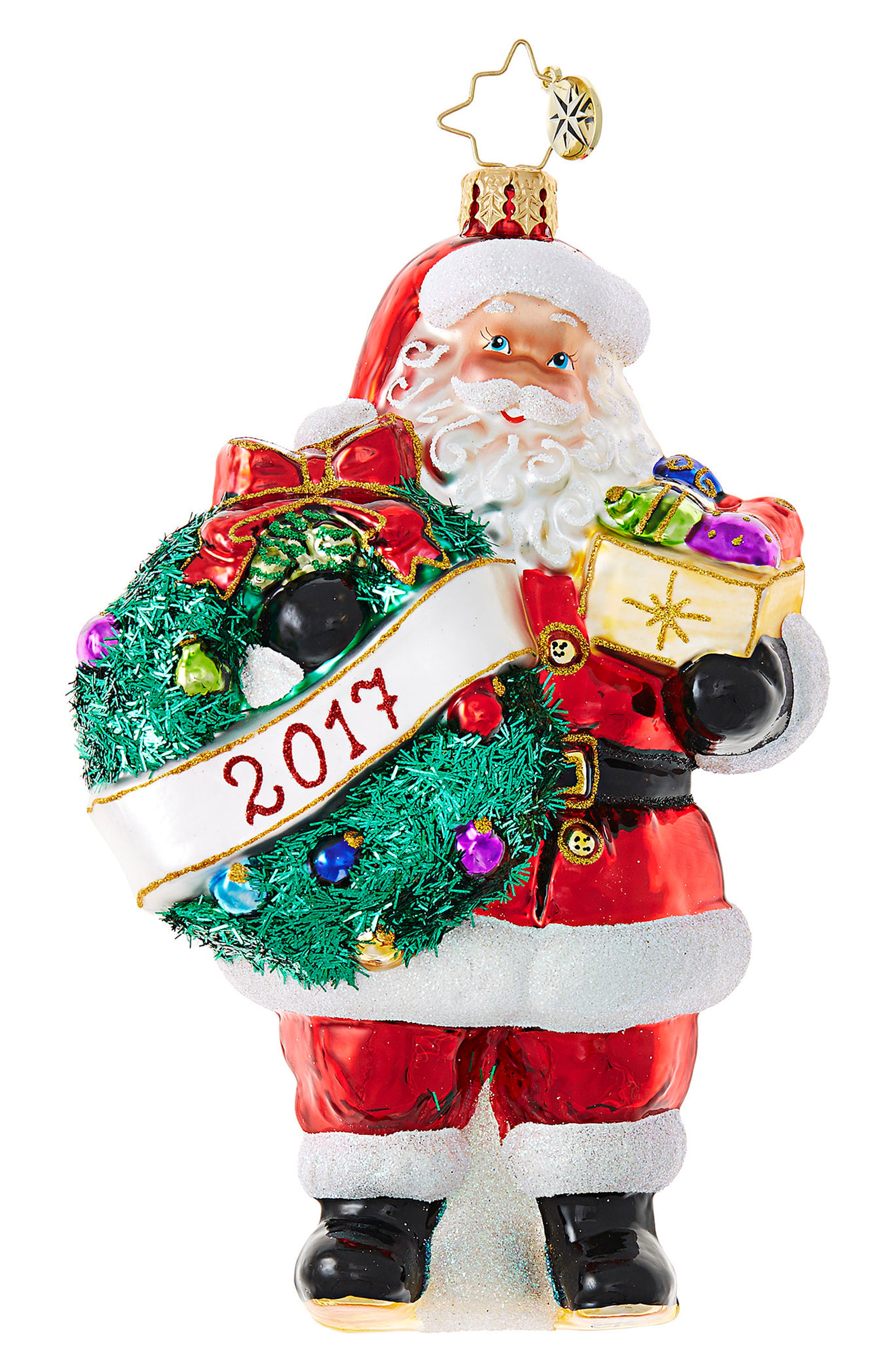 Embrace the Year Ornament,                         Main,                         color, Red/ Multi
