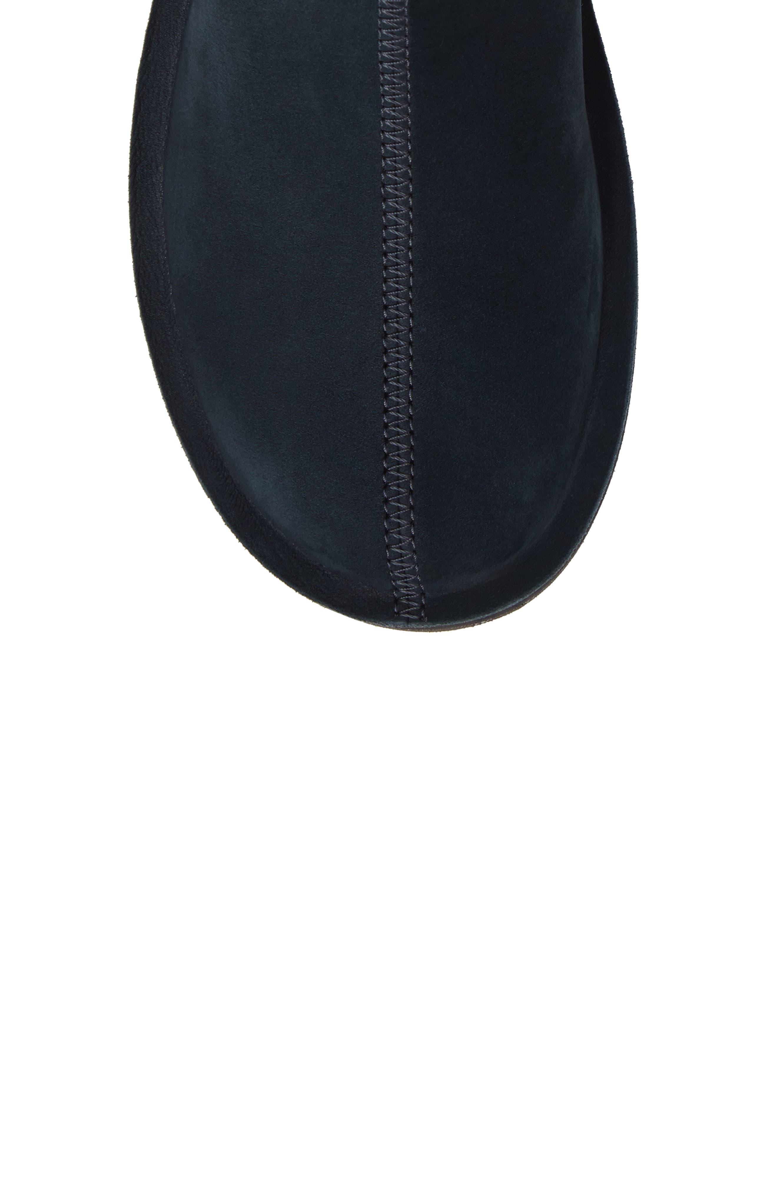 'Beetle Mid' Boot,                             Alternate thumbnail 5, color,                             Dark Blue Leather