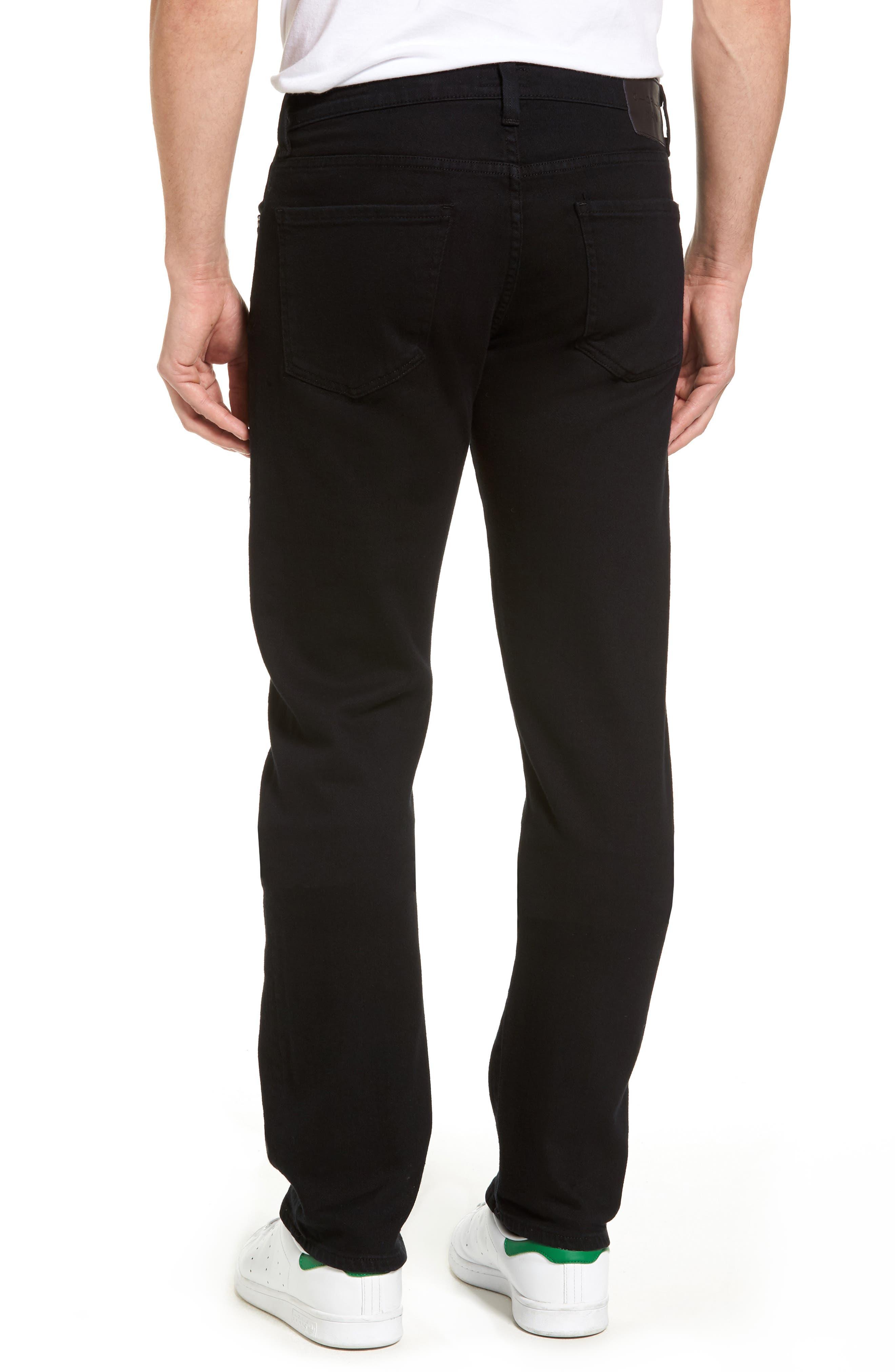 Alternate Image 2  - Citizens of Humanity Core Slim Straight Leg Jeans (Midnight) (Tall)