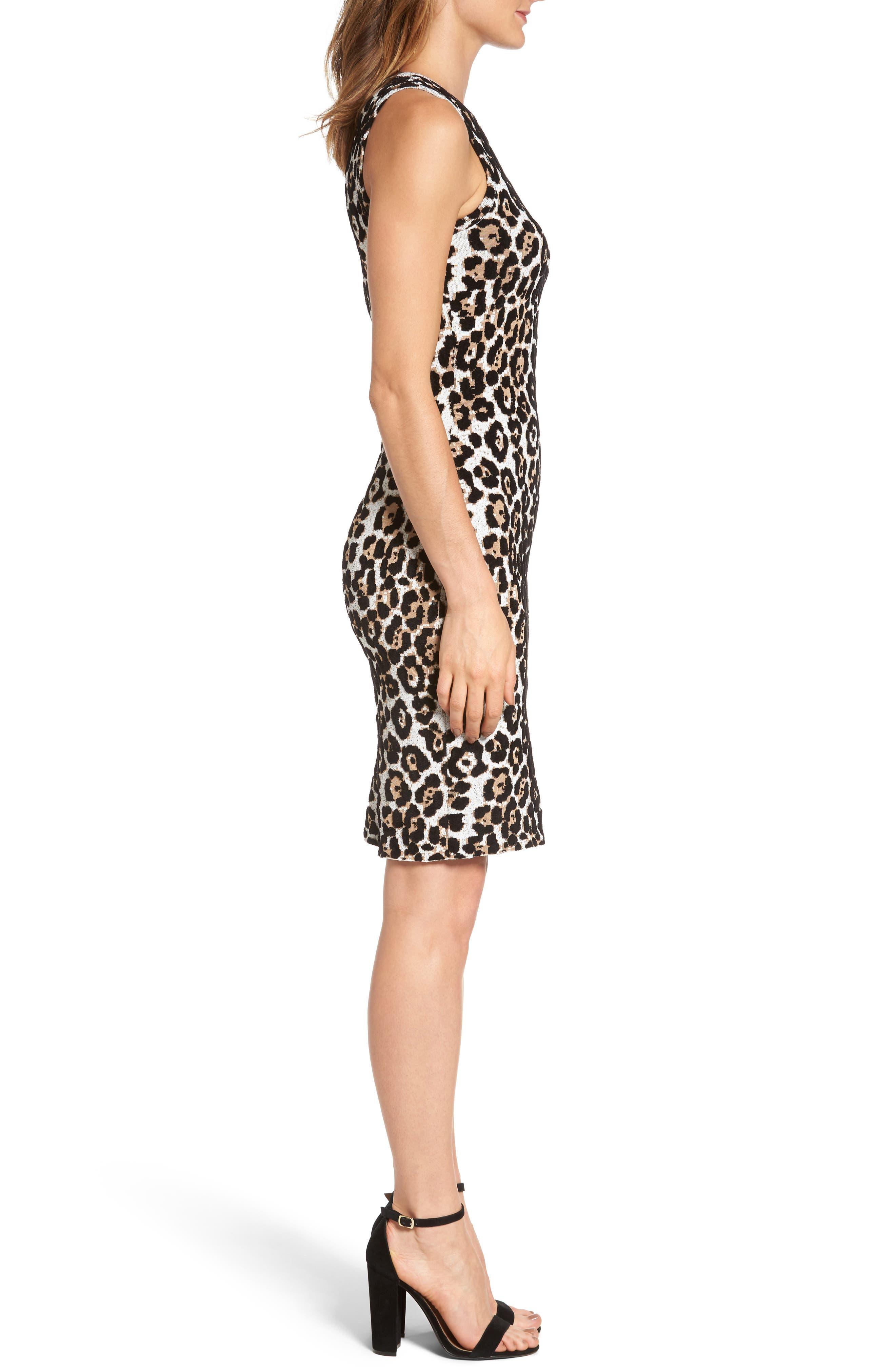 Alternate Image 3  - MICHAEL Michael Kors Animal Print Sheath Dress