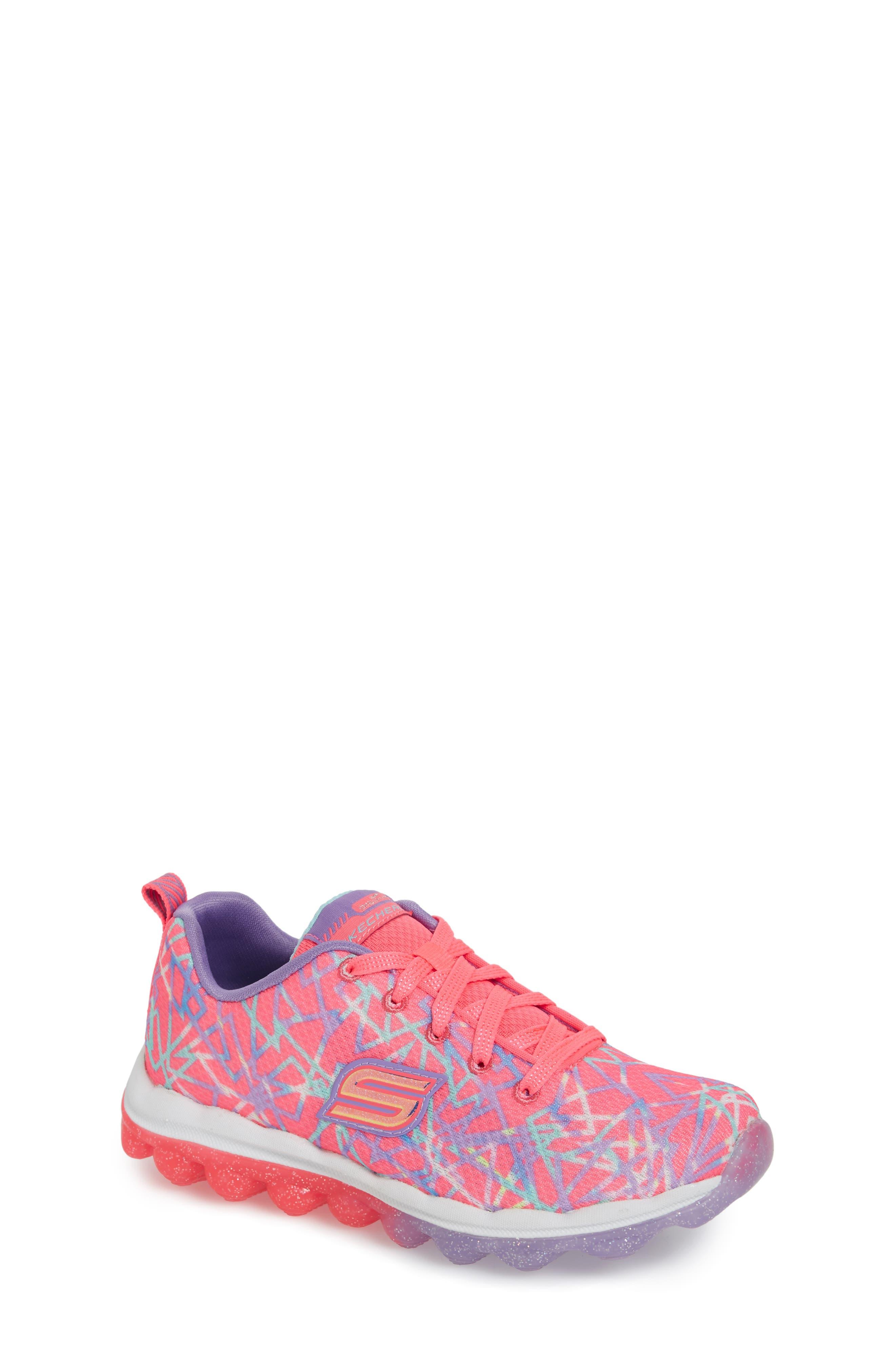 Skech-Air Sneaker,                             Main thumbnail 1, color,                             Pink