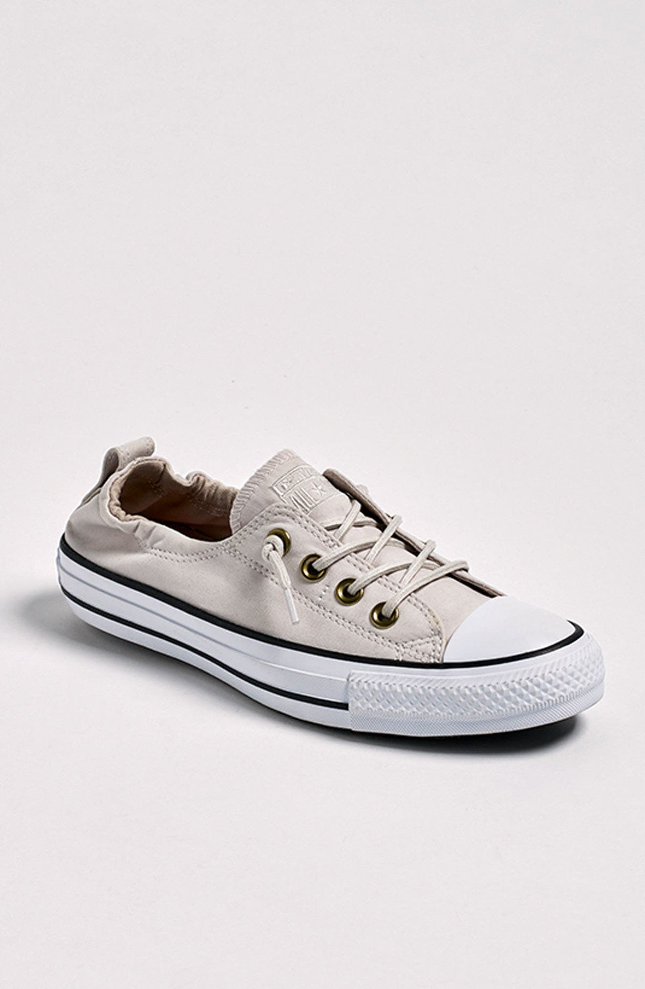 Chuck Taylor<sup>®</sup> All Star<sup>®</sup> Shoreline Peached Twill Sneaker,                             Alternate thumbnail 7, color,