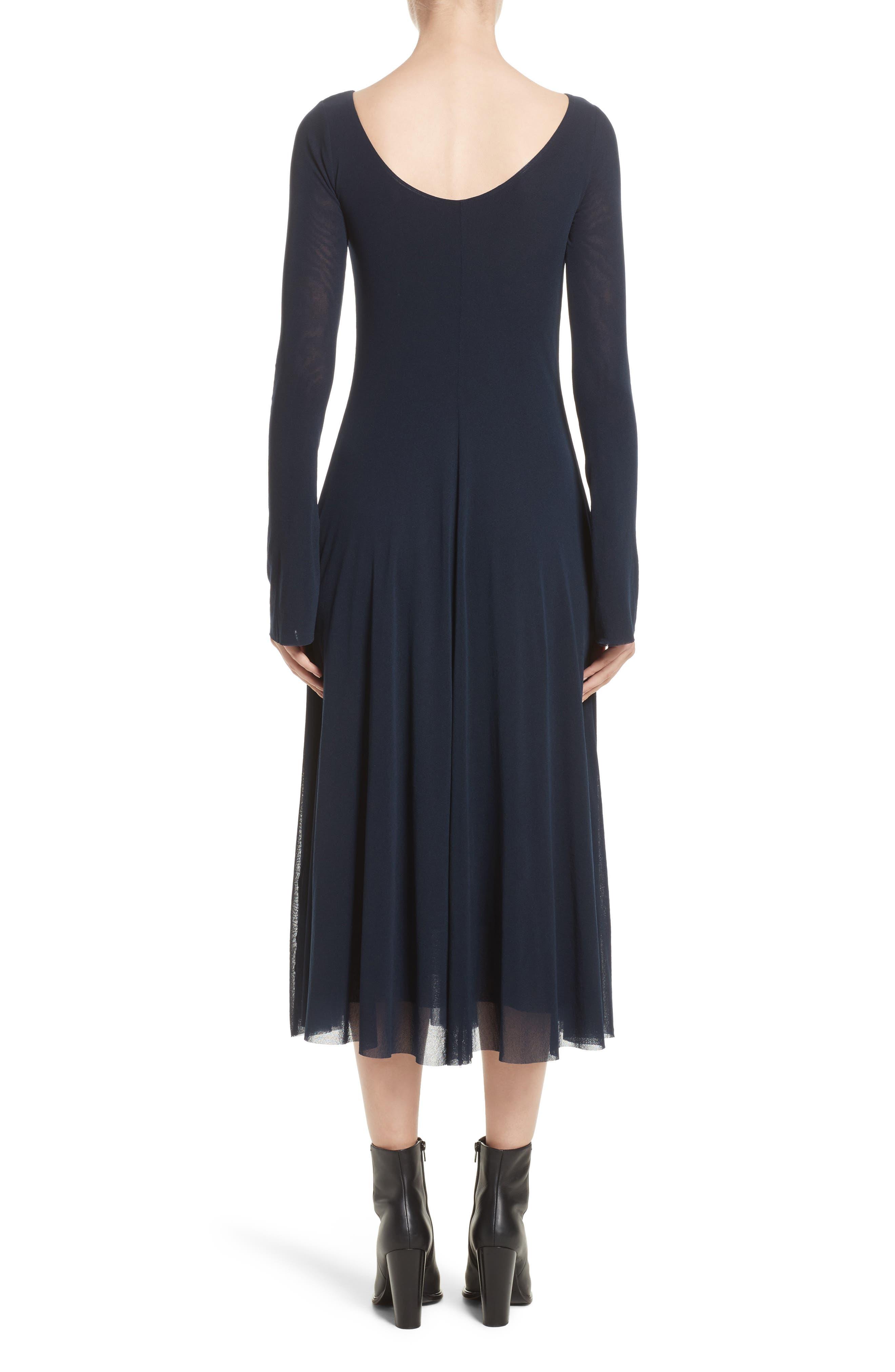 Alternate Image 2  - Fuzzi Reversible Tulle Dress