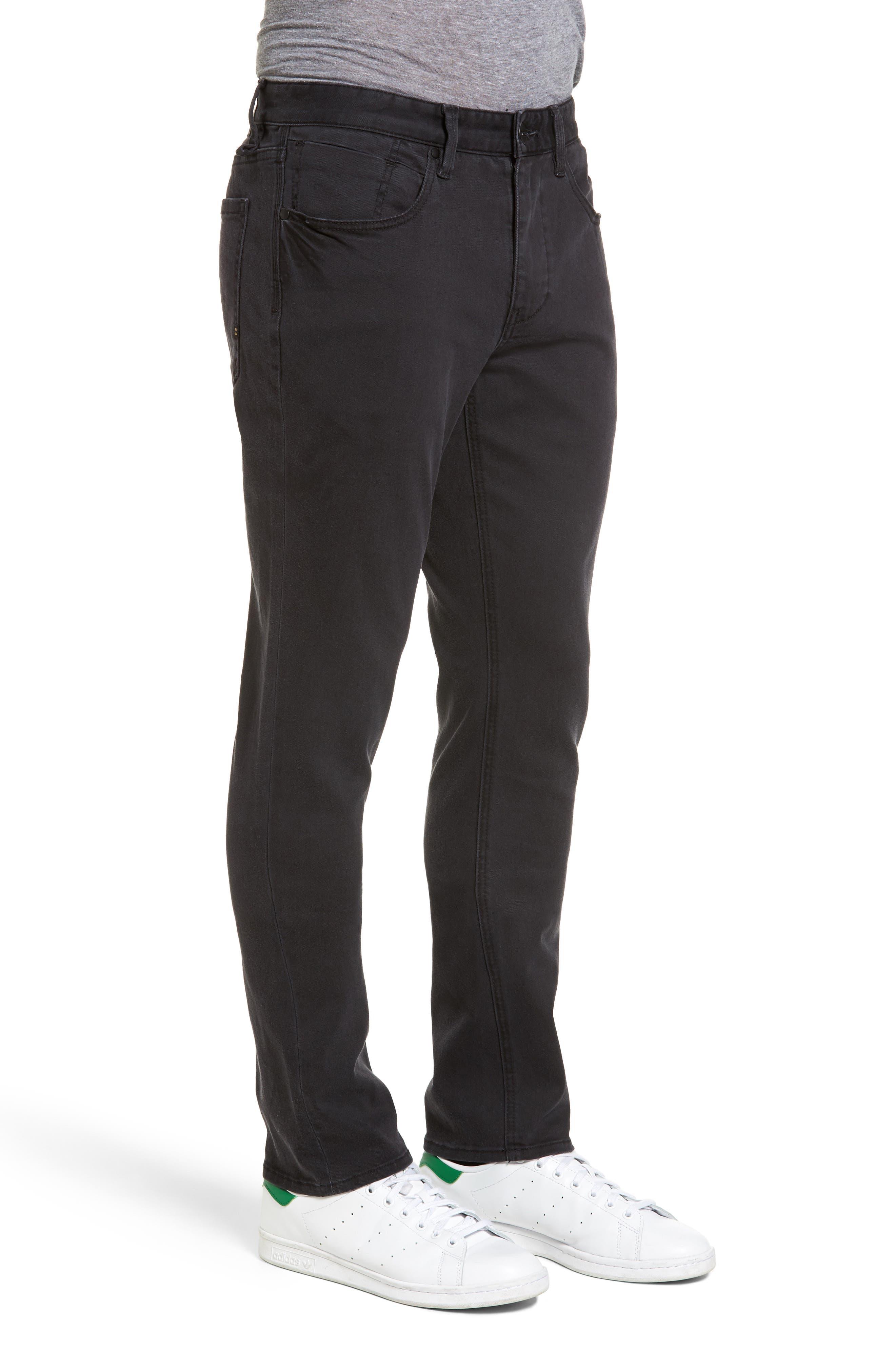 Alternate Image 3  - Billabong Outside Slim Straight Leg Jeans