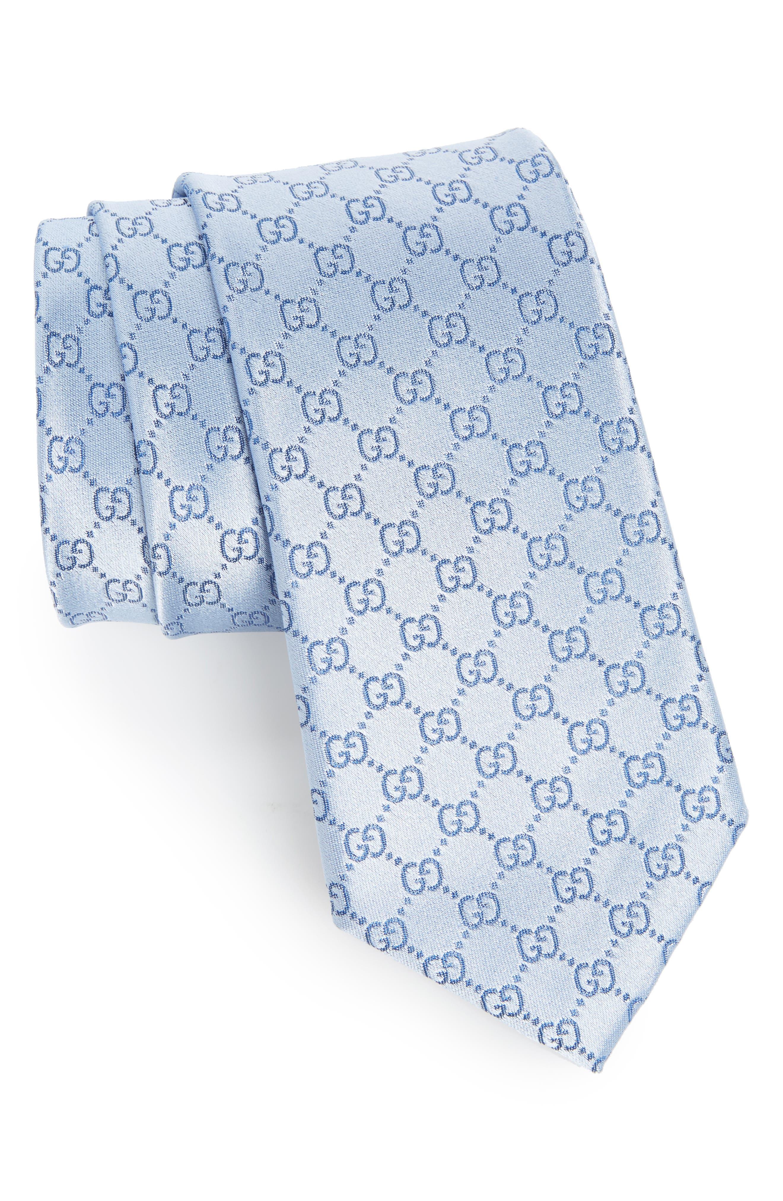 Gucci Federa Silk Jacquard Tie
