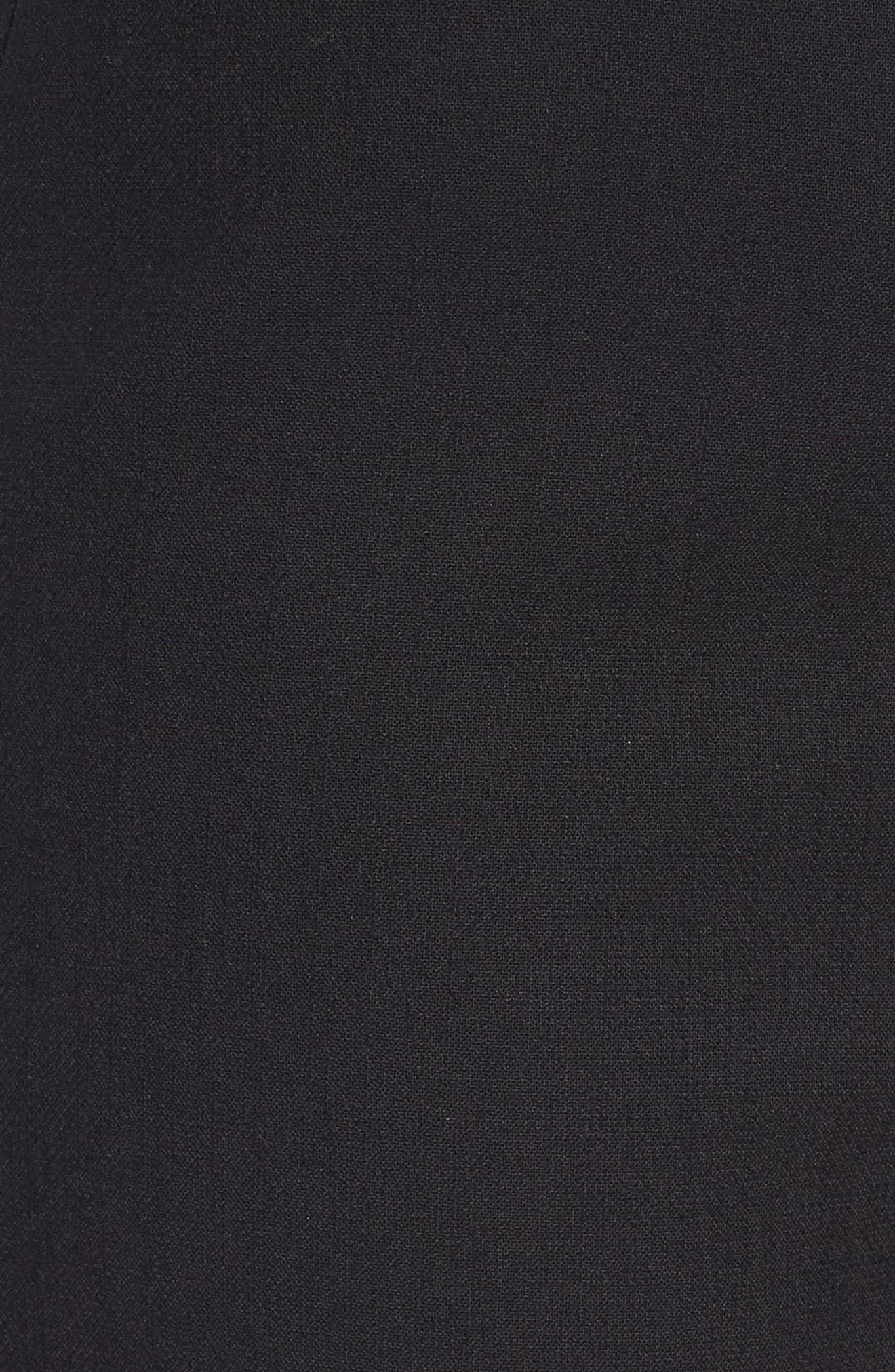 Removable Stirrup Pants,                             Alternate thumbnail 6, color,                             Black