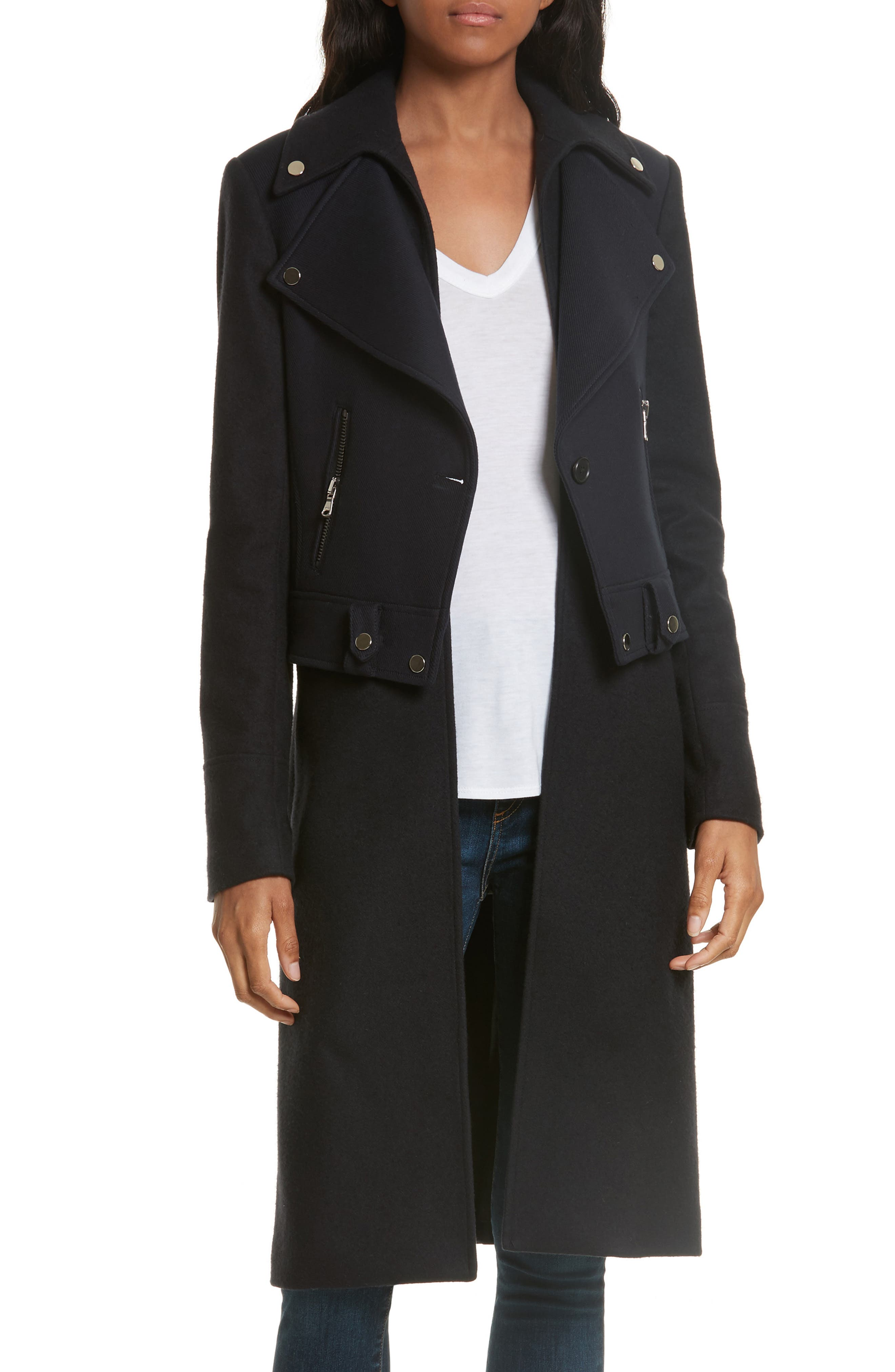 Main Image - Veronica Beard Alcott Wool & Cashmere Blend Vest Coat