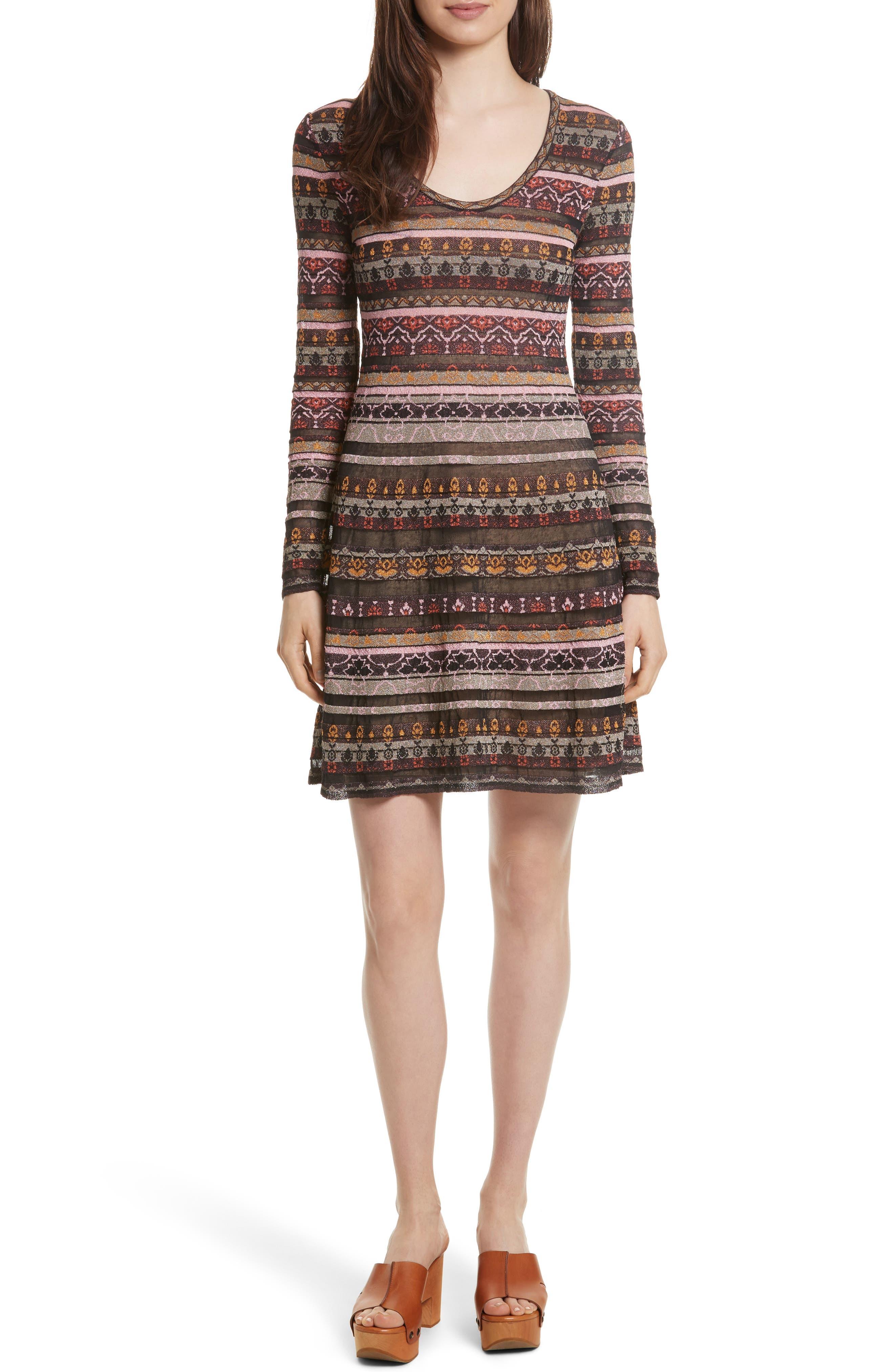 Alternate Image 1 Selected - M Missoni Floral Jacquard Dress