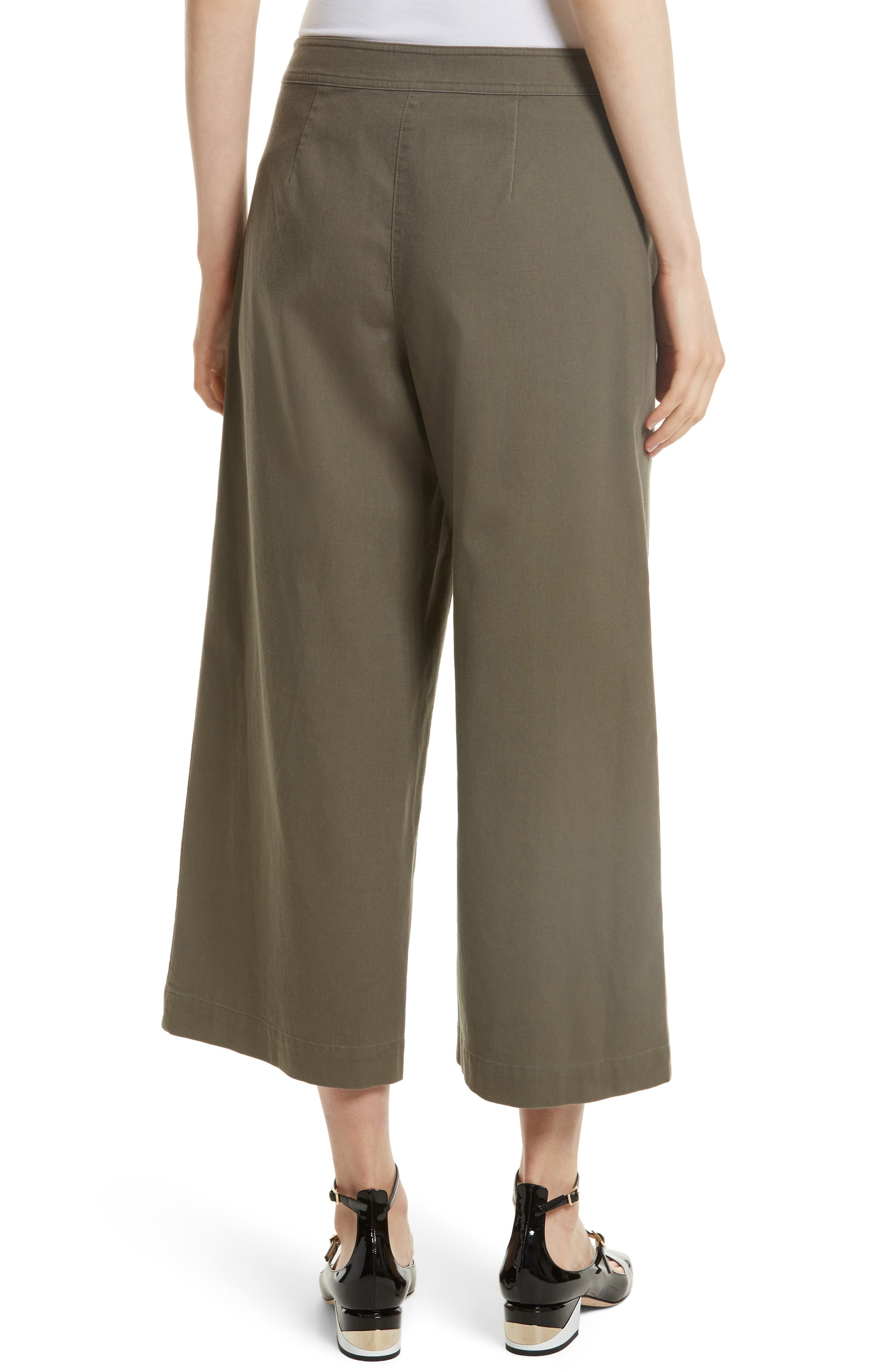 Alternate Image 2  - kate spade new york crop military pants