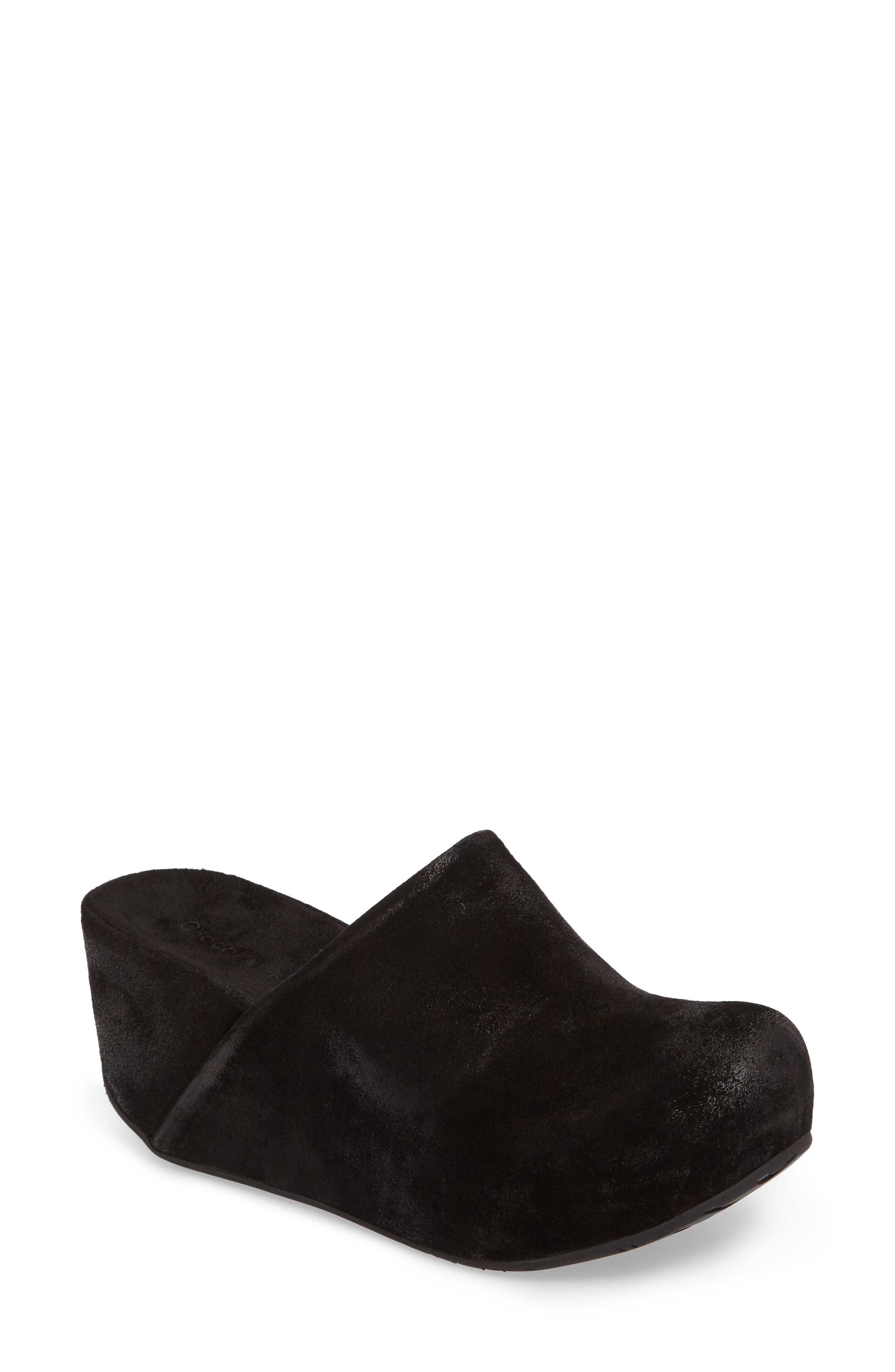 Chocolat Blu Maya Platform Wedge Clog (Women)