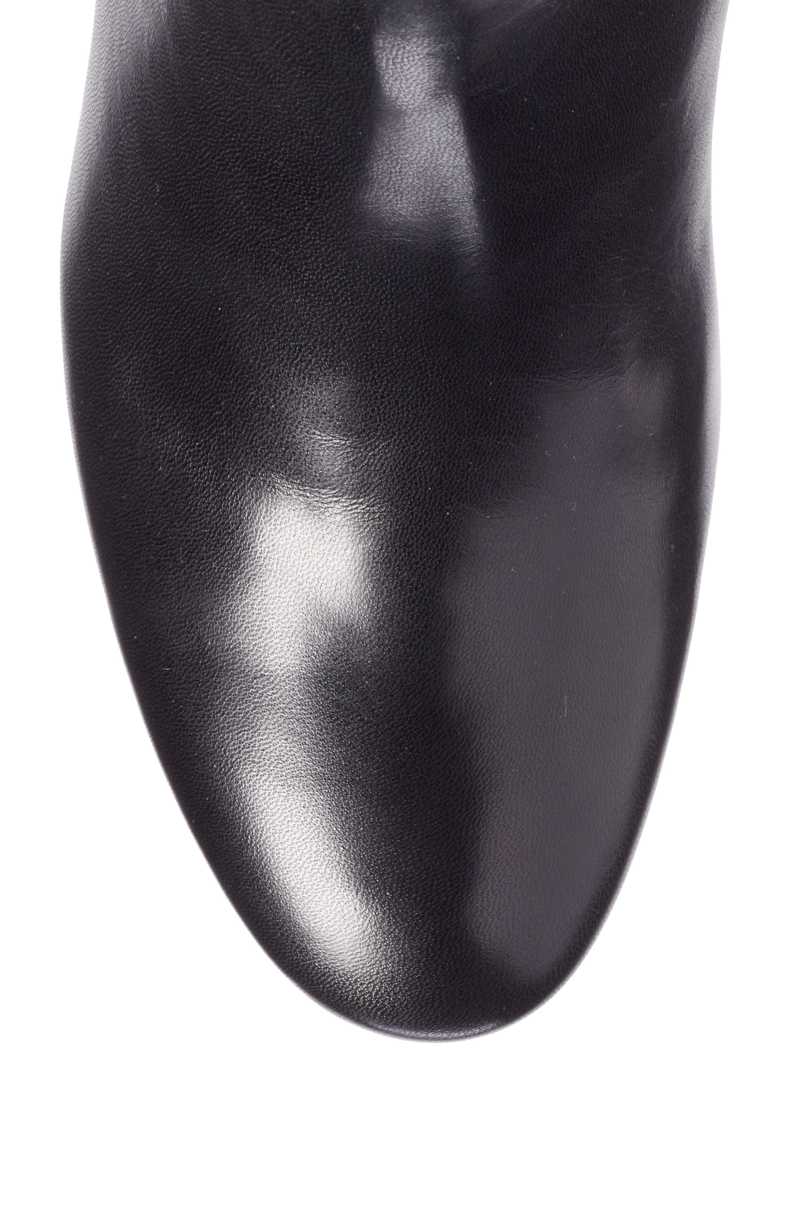 LouLou Chelsea Bootie,                             Alternate thumbnail 5, color,                             Black
