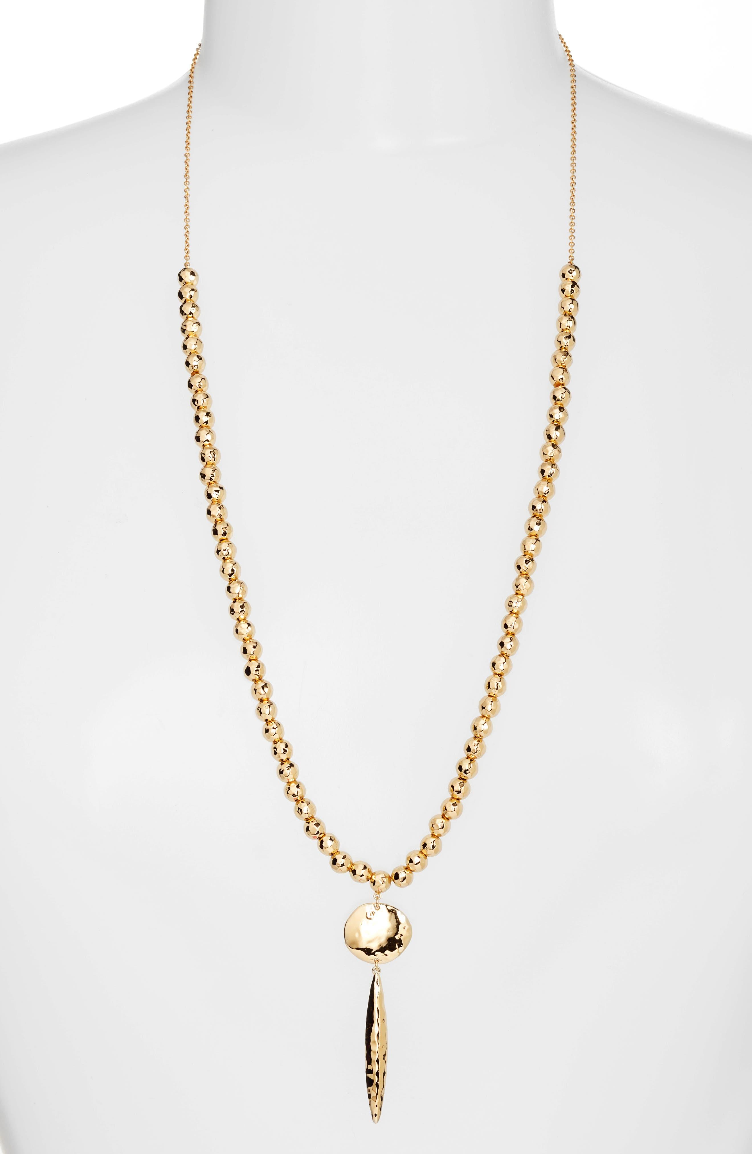 Alternate Image 3  - gorjana Gypset Adjustable Pendant Necklace