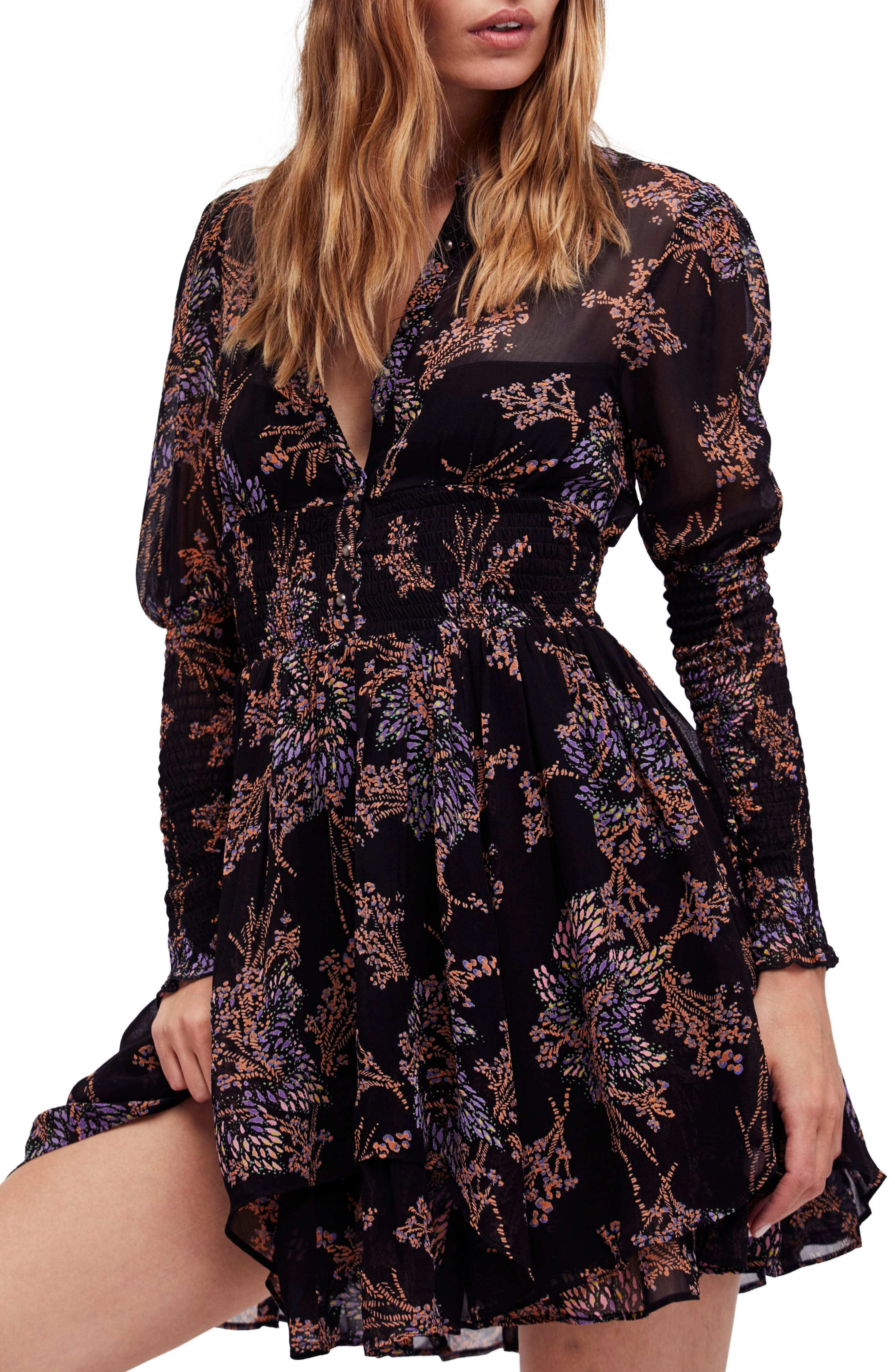 Alternate Image 1 Selected - Free People Fake Pretend Babydoll Dress