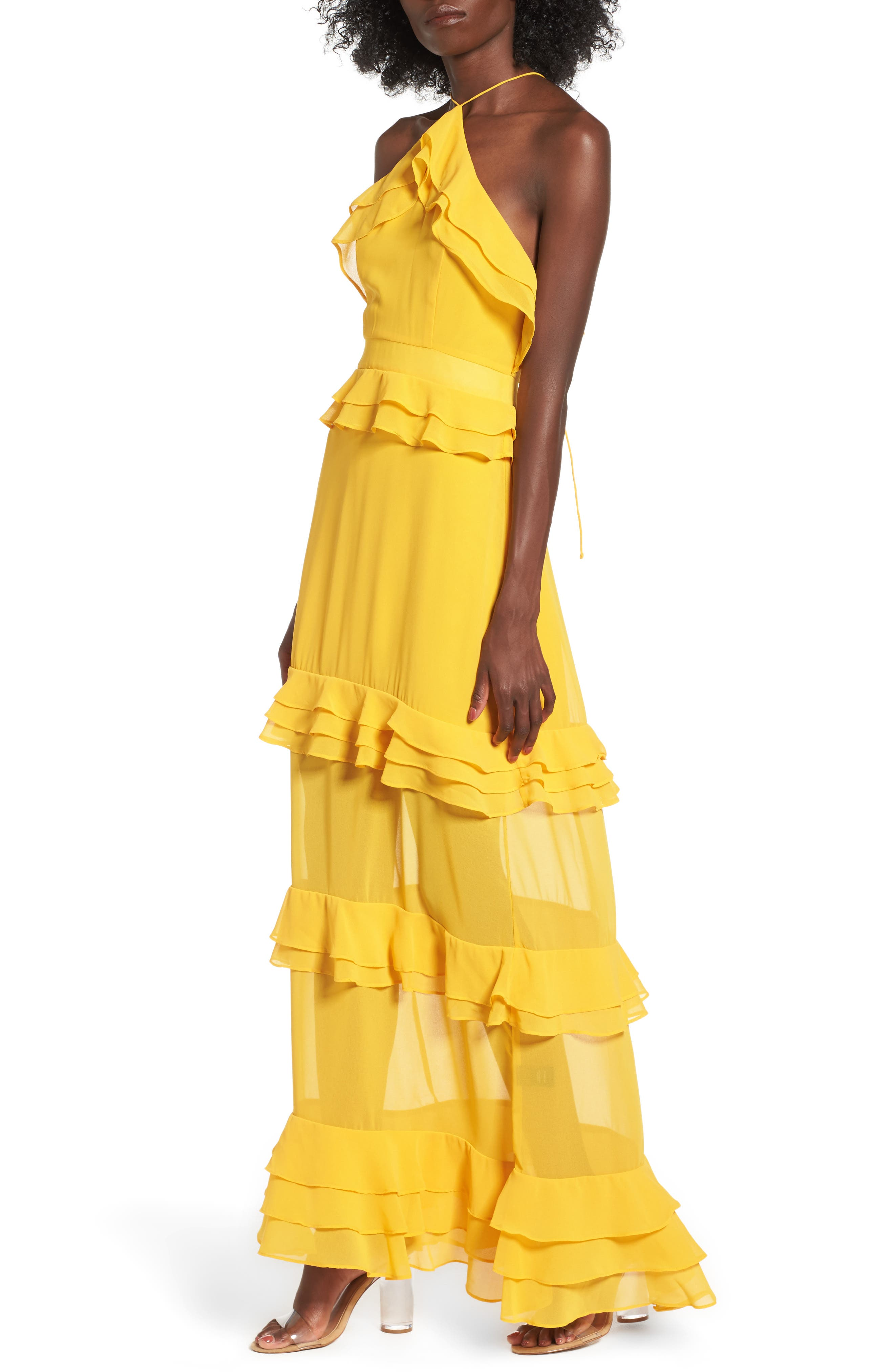 Violet Maxi Dress,                         Main,                         color, Sun