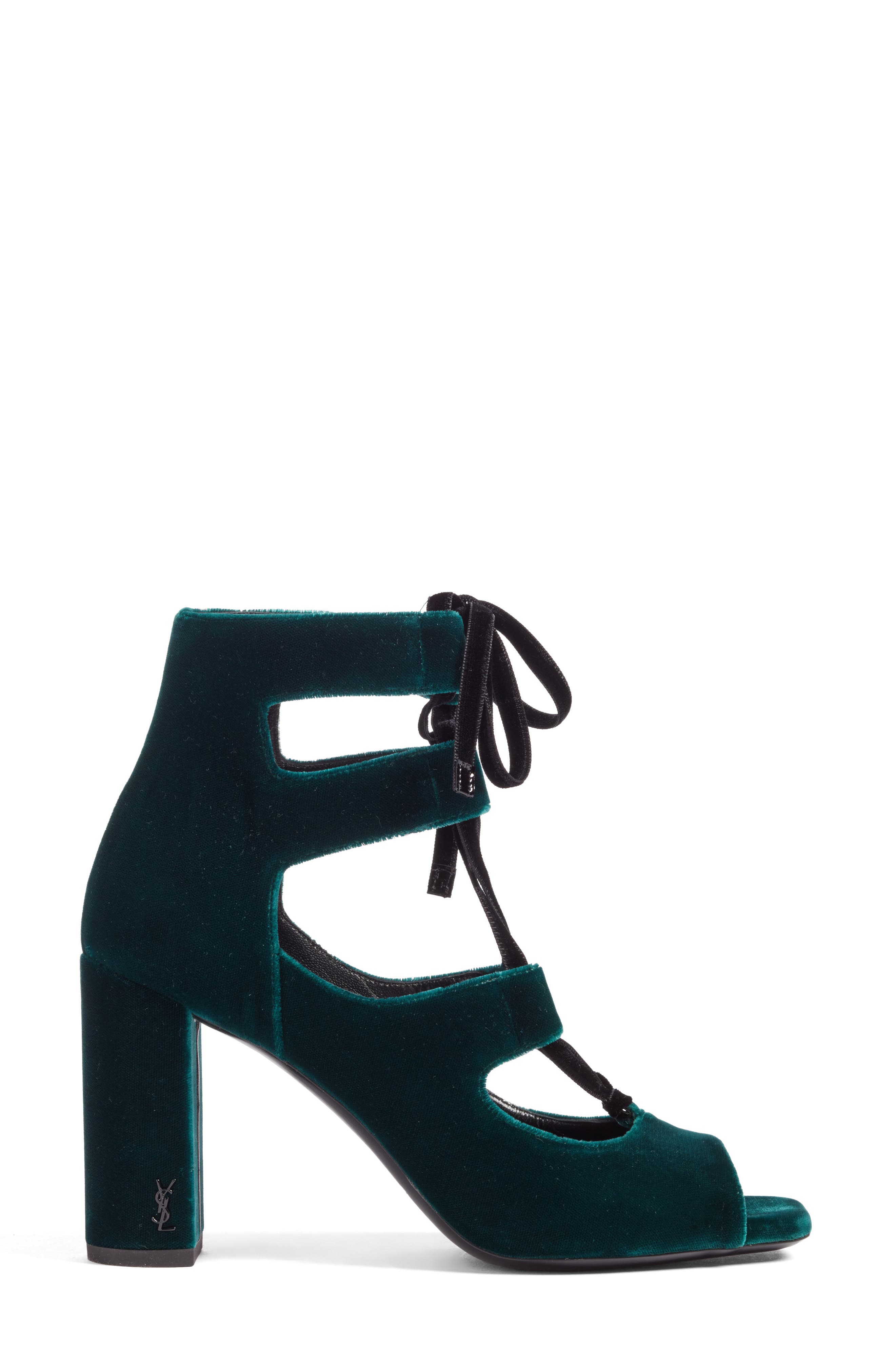 Loulou Ghillie Sandal,                             Alternate thumbnail 3, color,                             Teal