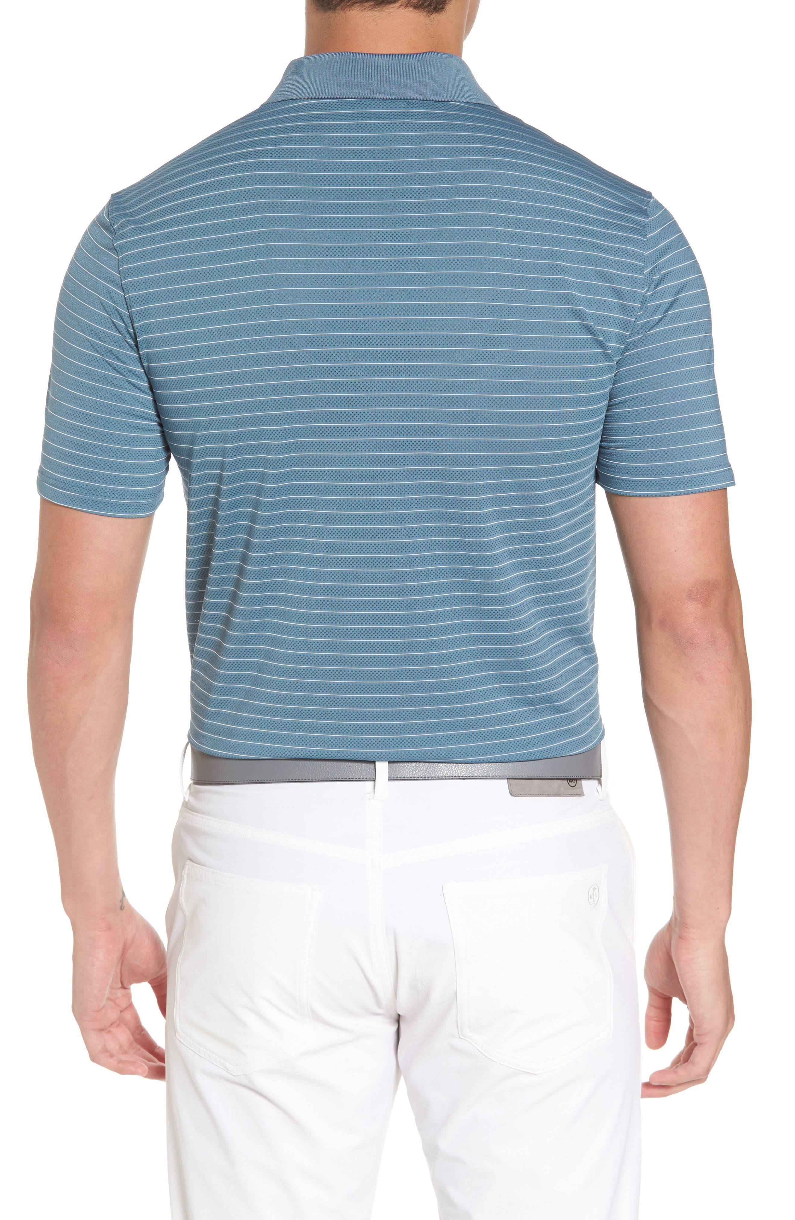 Trexler Stripe Polo,                             Alternate thumbnail 2, color,                             Blue Print