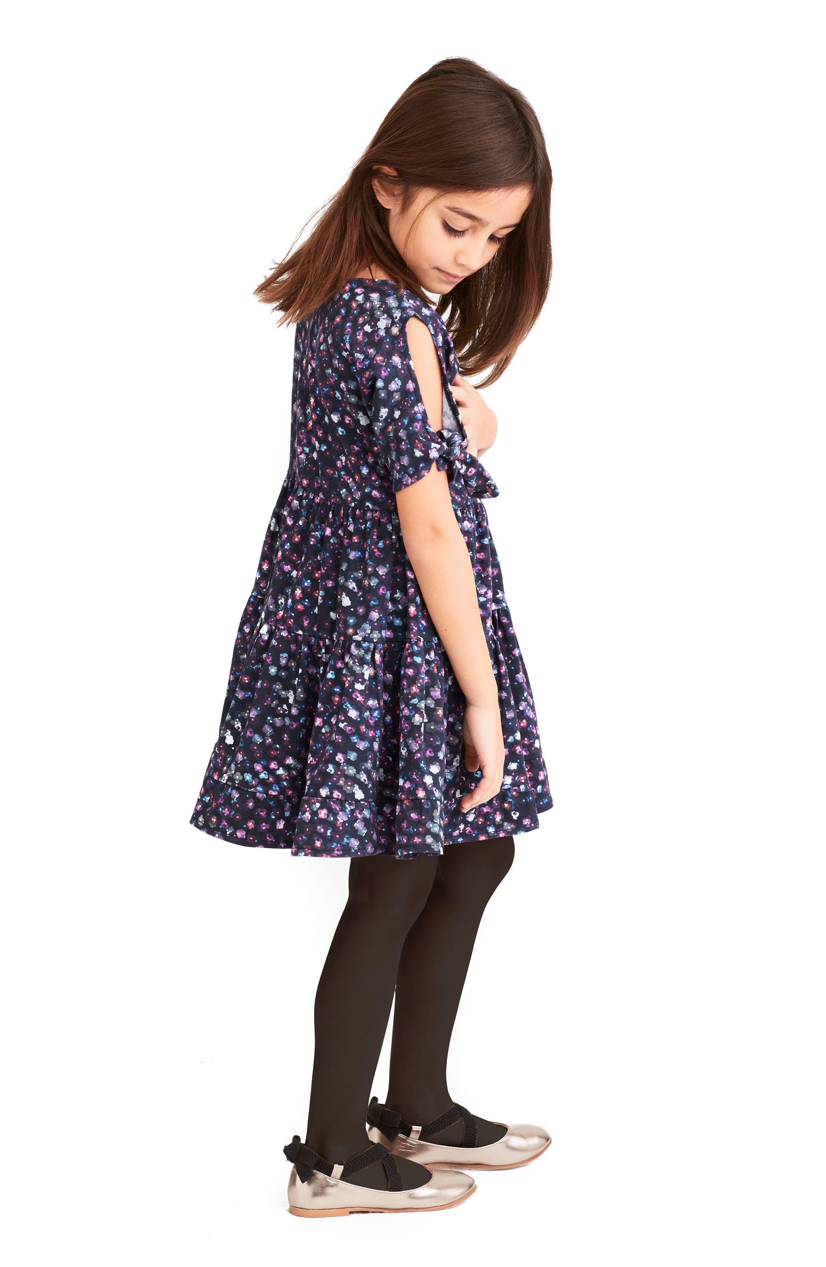 Alternate Image 4  - Art & Eden Emma Cold Shoulder Dress (Toddler Girls & Little Girls)