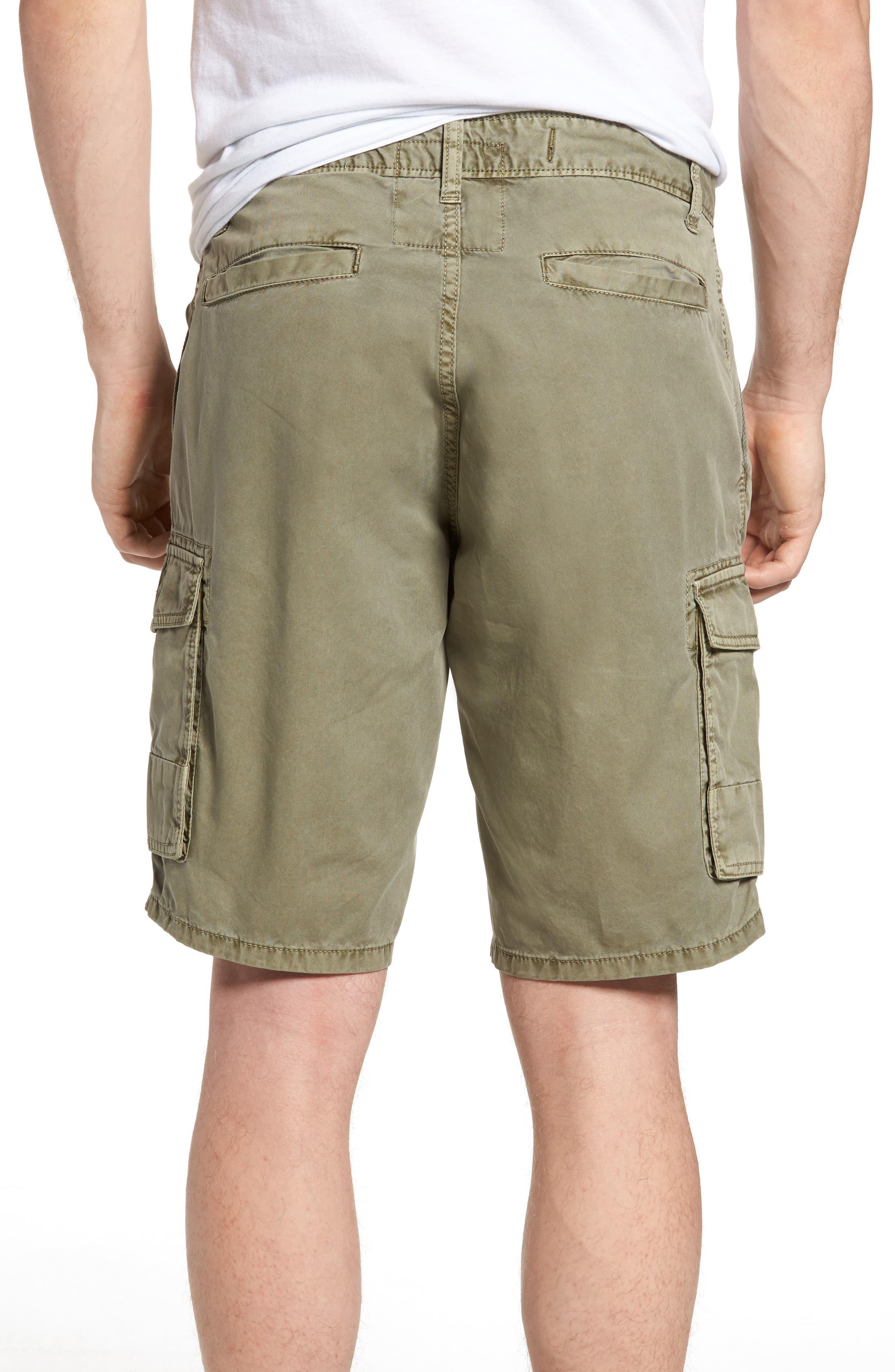 'Newport' Cargo Shorts,                             Alternate thumbnail 2, color,                             Olive