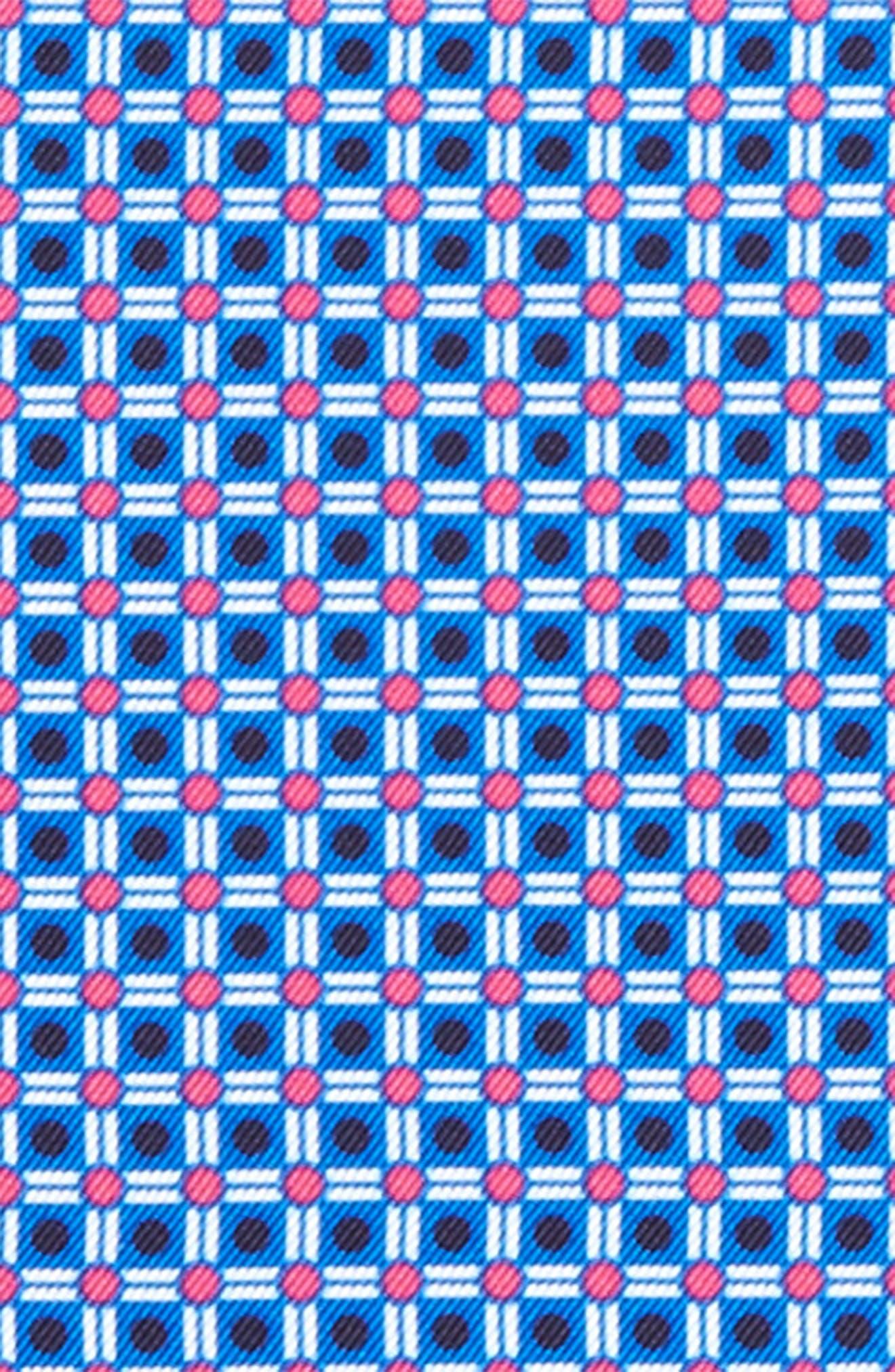 Alternate Image 3  - Eton Geometric Silk Pocket Square