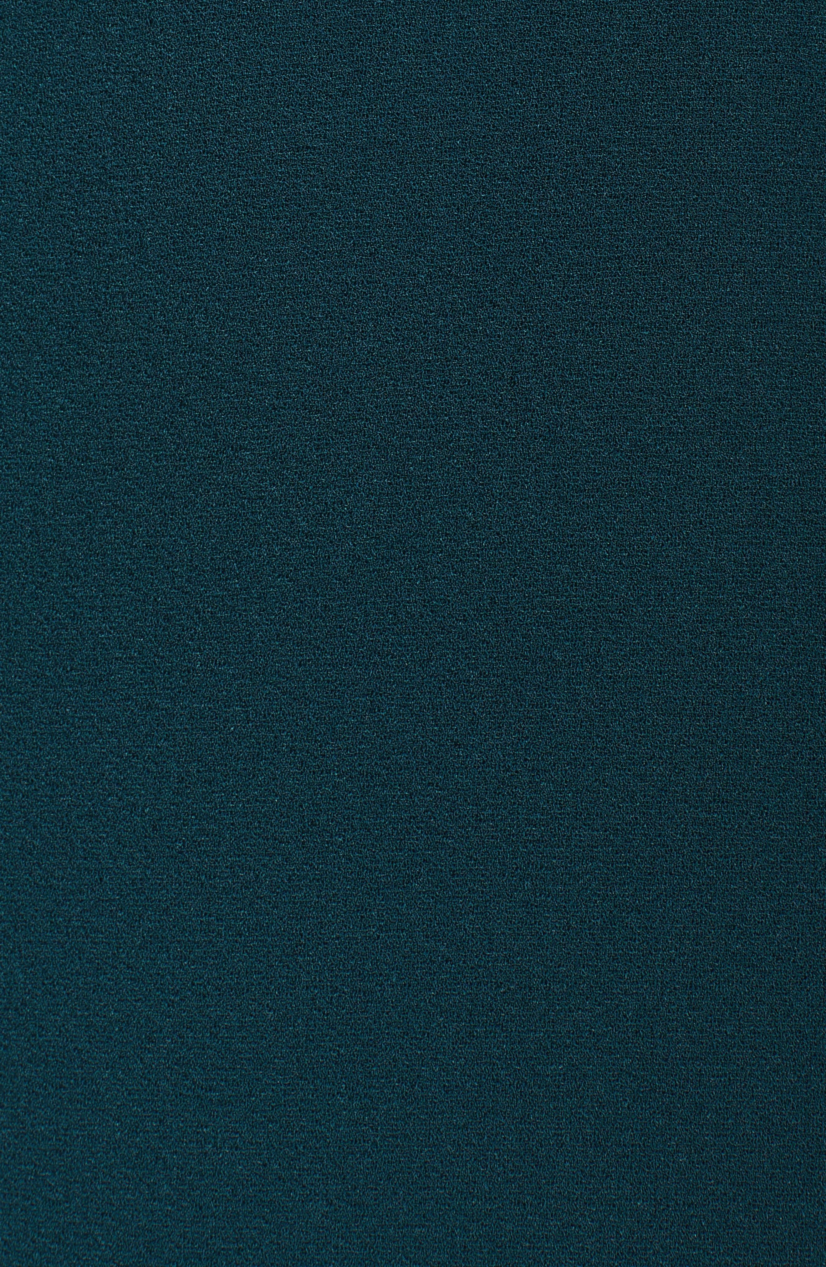 Alternate Image 5  - Charles Henry Ruffle Crepe Sheath Dress