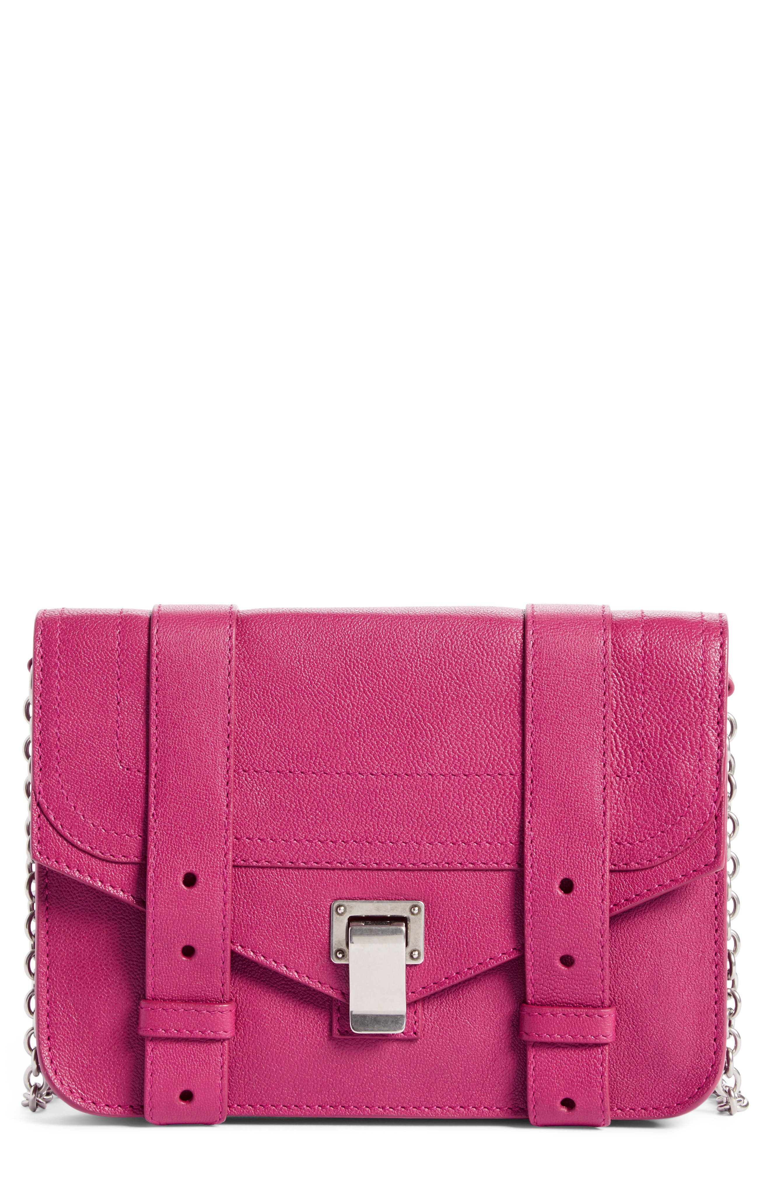 Proenza Schouler PS1 Leather Chain Wallet