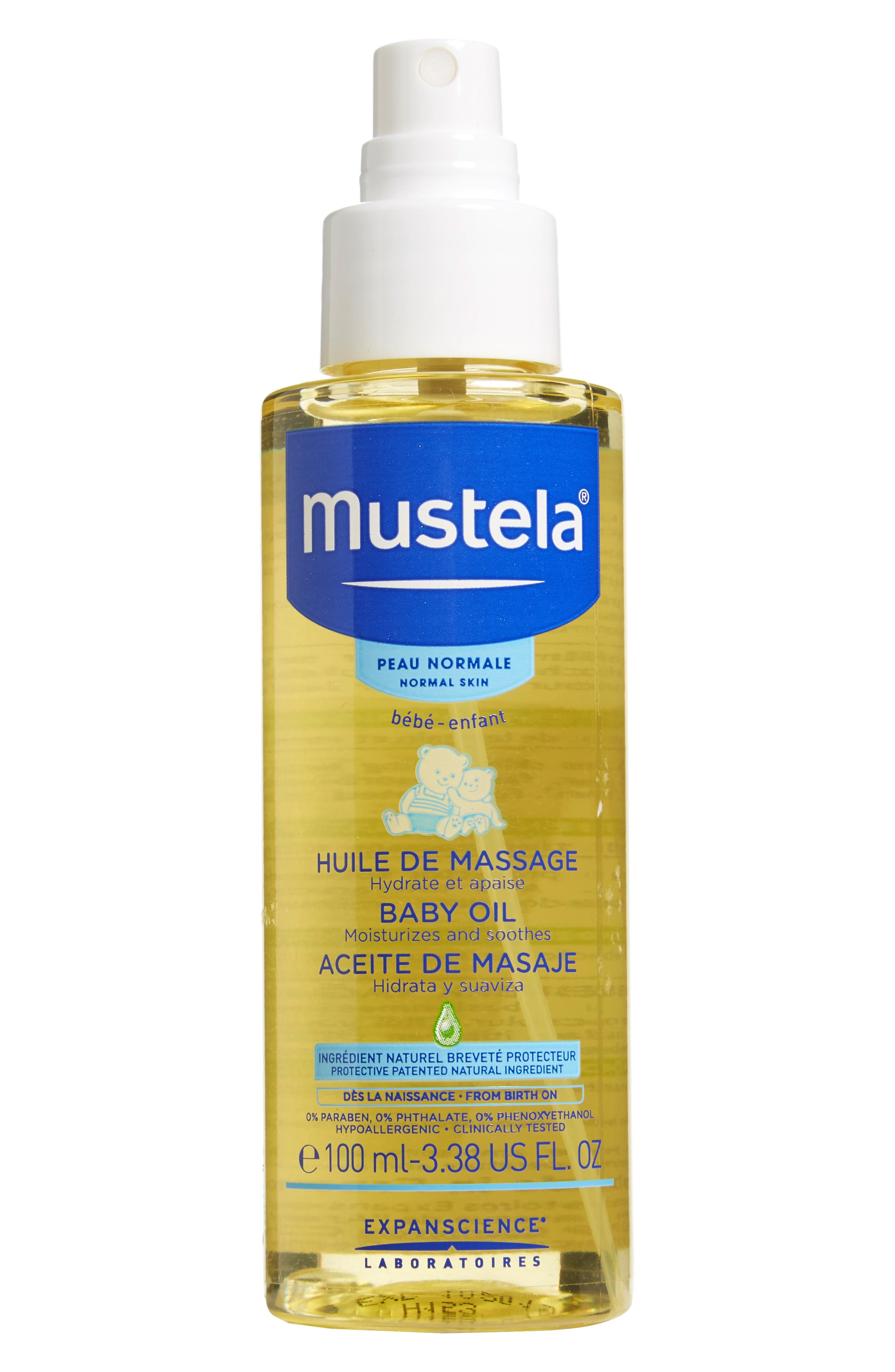 Baby Oil,                         Main,                         color, White