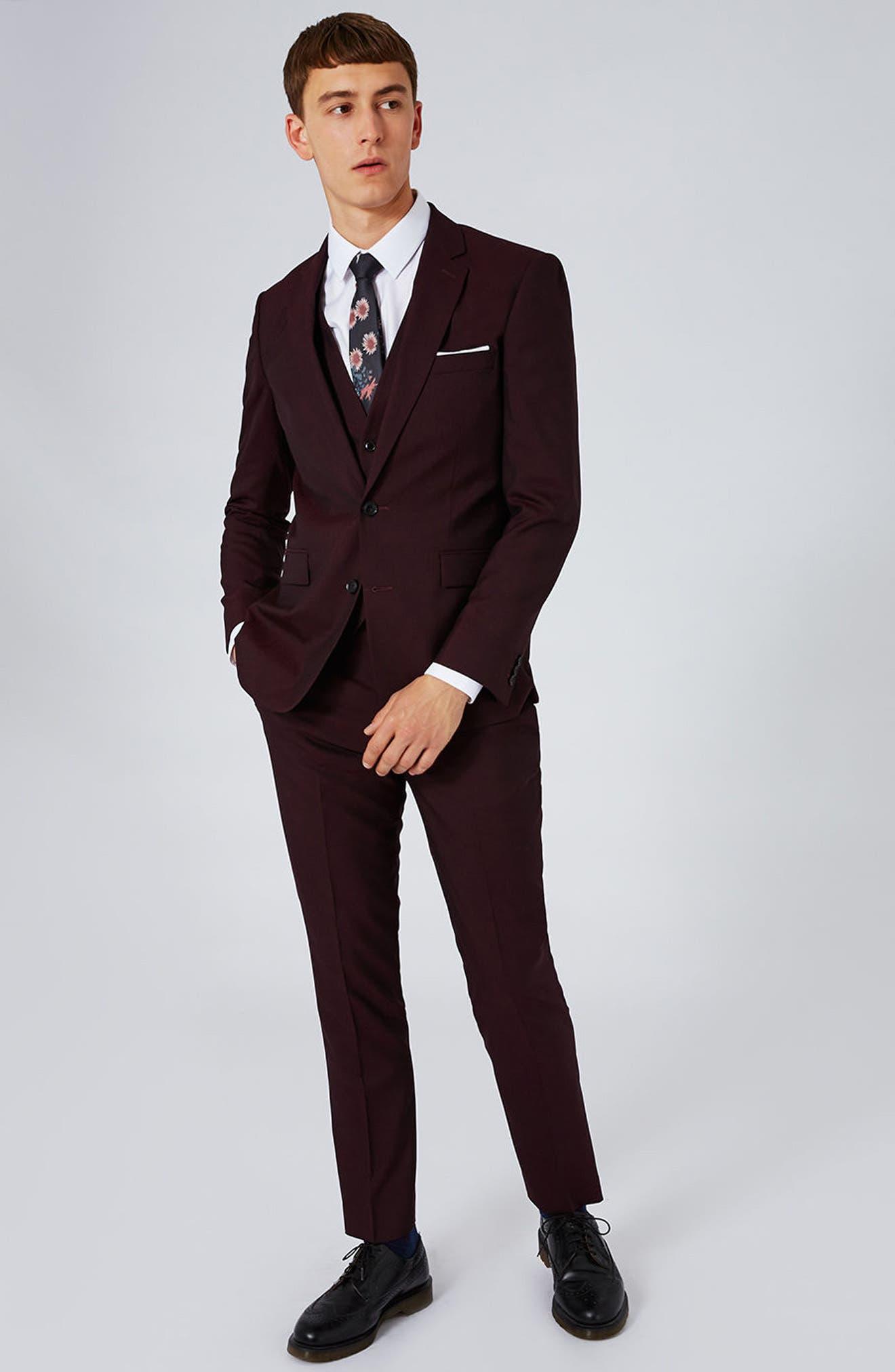 Alternate Image 2  - Charlie Casely-Hayford x Topman Skinny Fit Vest