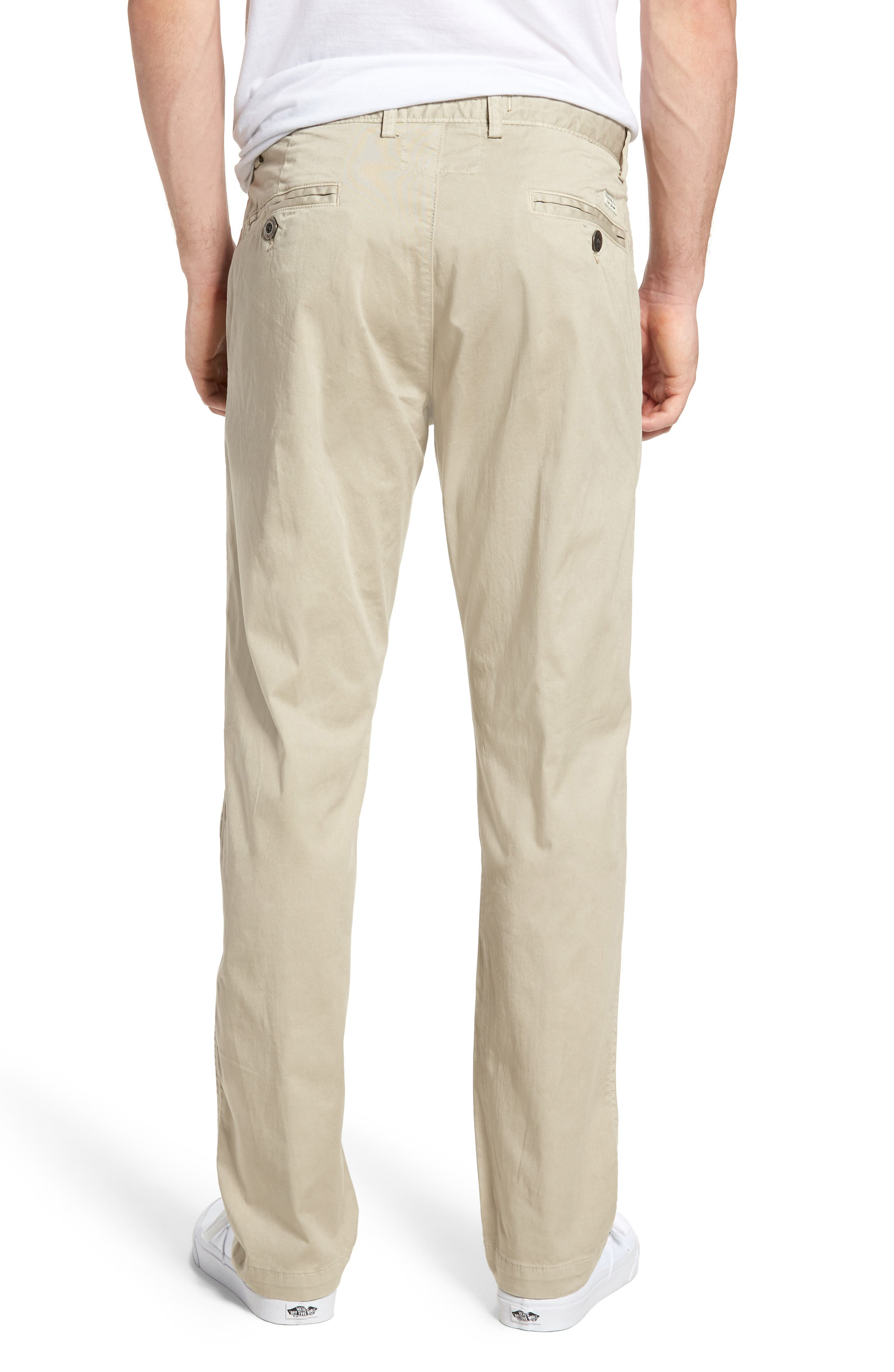 Alternate Image 2  - Original Paperbacks Belmont Stretch Chino Pants