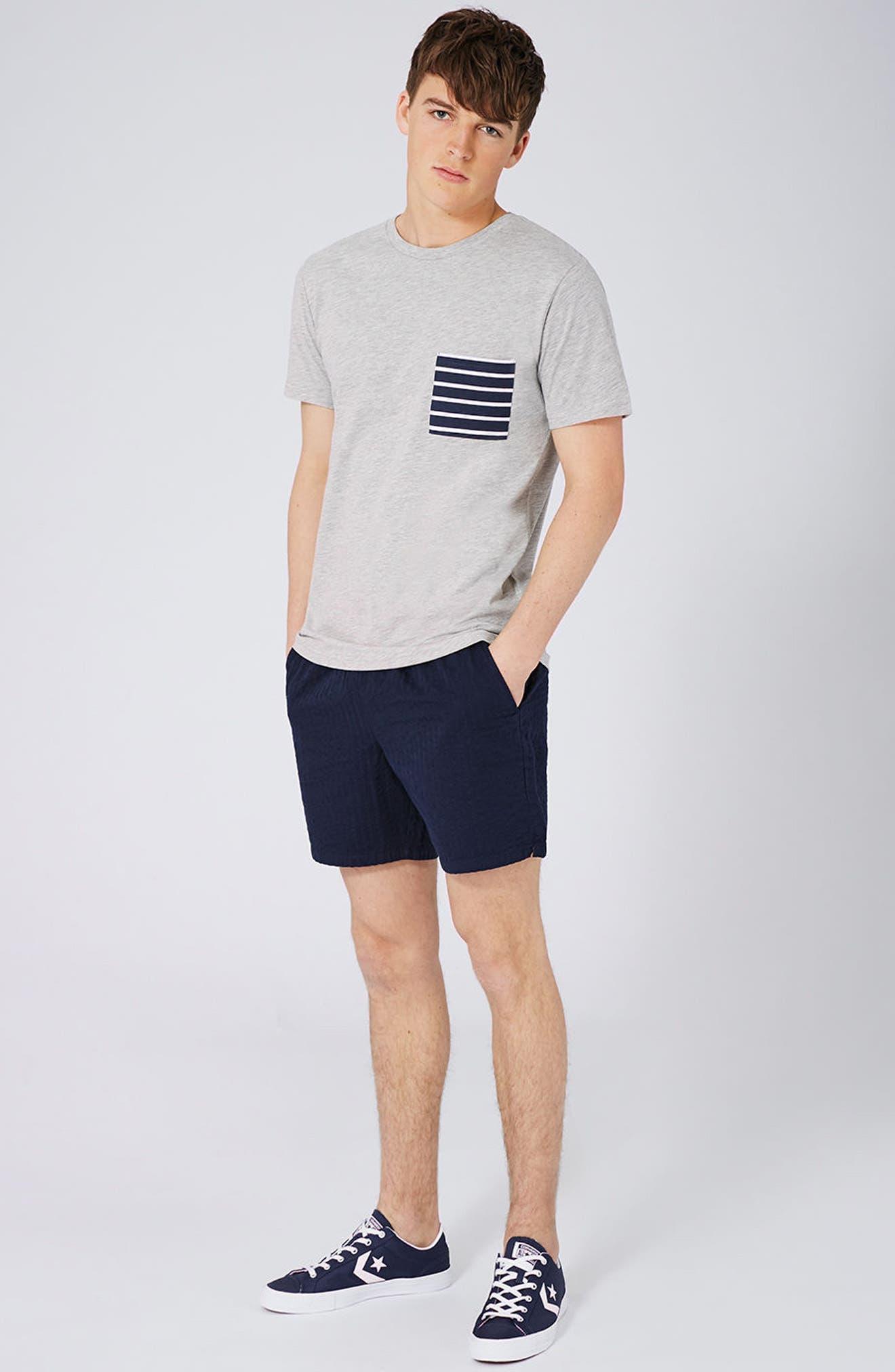 Alternate Image 2  - Topman Stripe Pocket T-Shirt