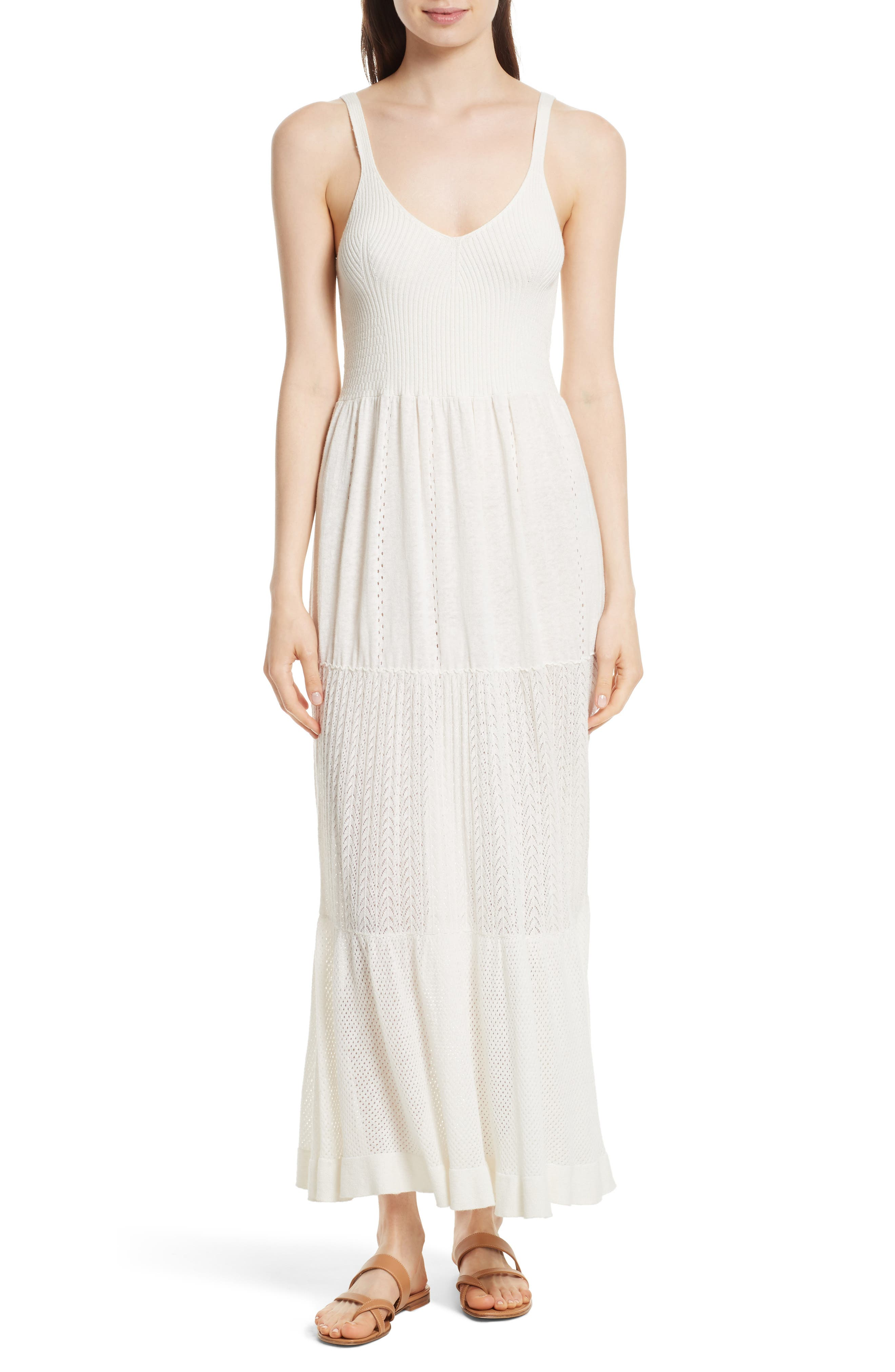 La Vie Rebecca Taylor Knit Maxi Dress