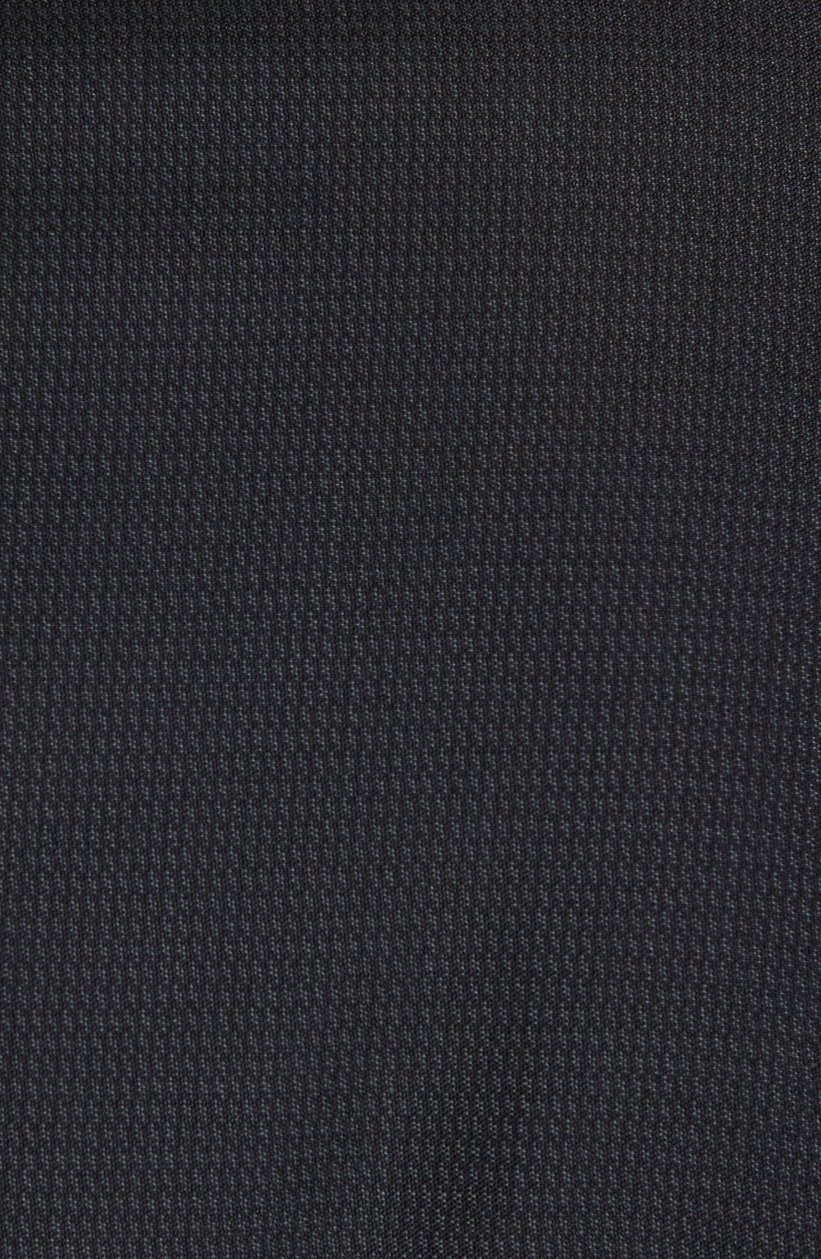 Jay Trim Fit Solid Wool Suit,                             Alternate thumbnail 7, color,                             Black Charcoal