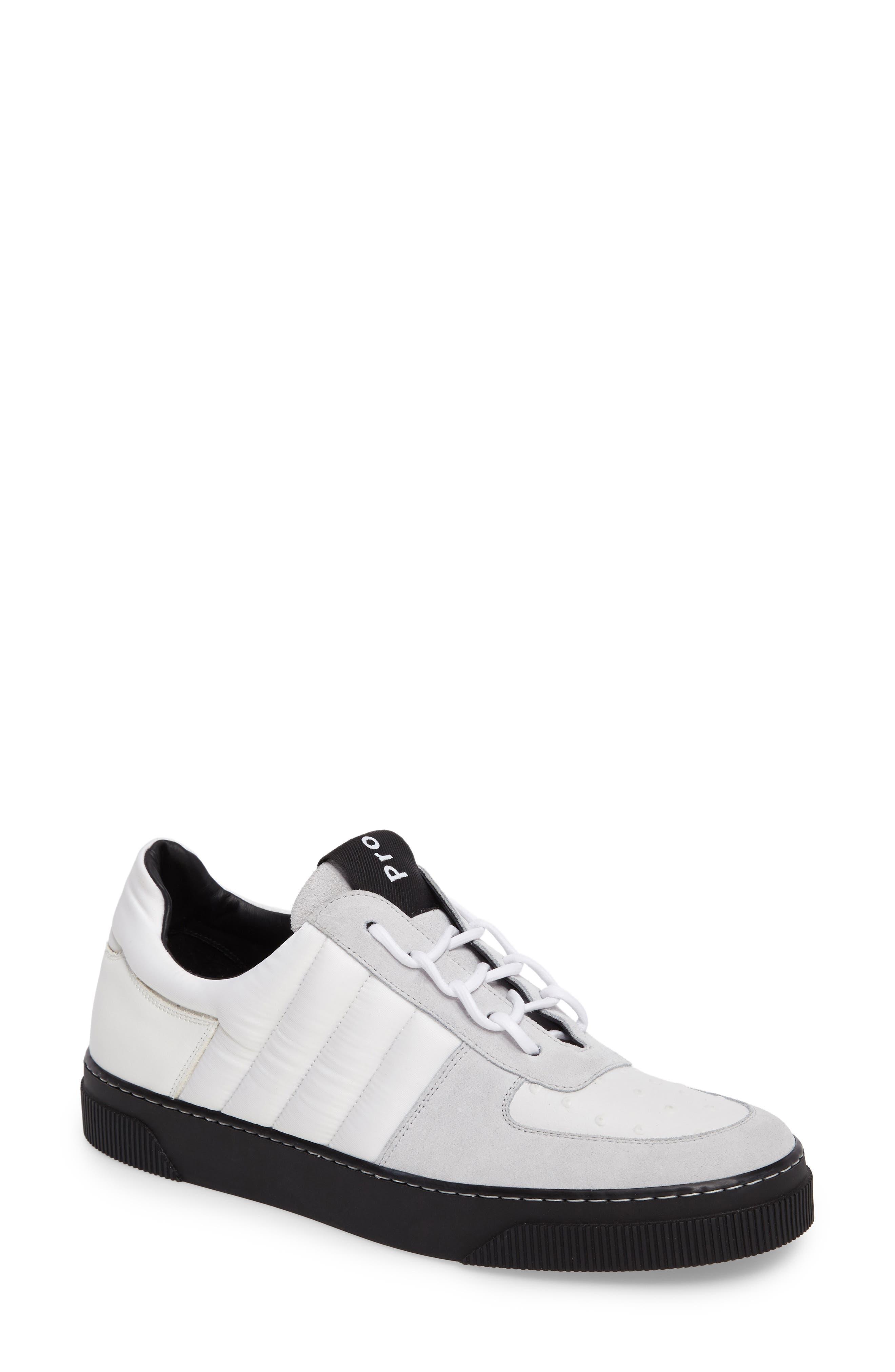 Sneaker,                             Main thumbnail 1, color,                             White