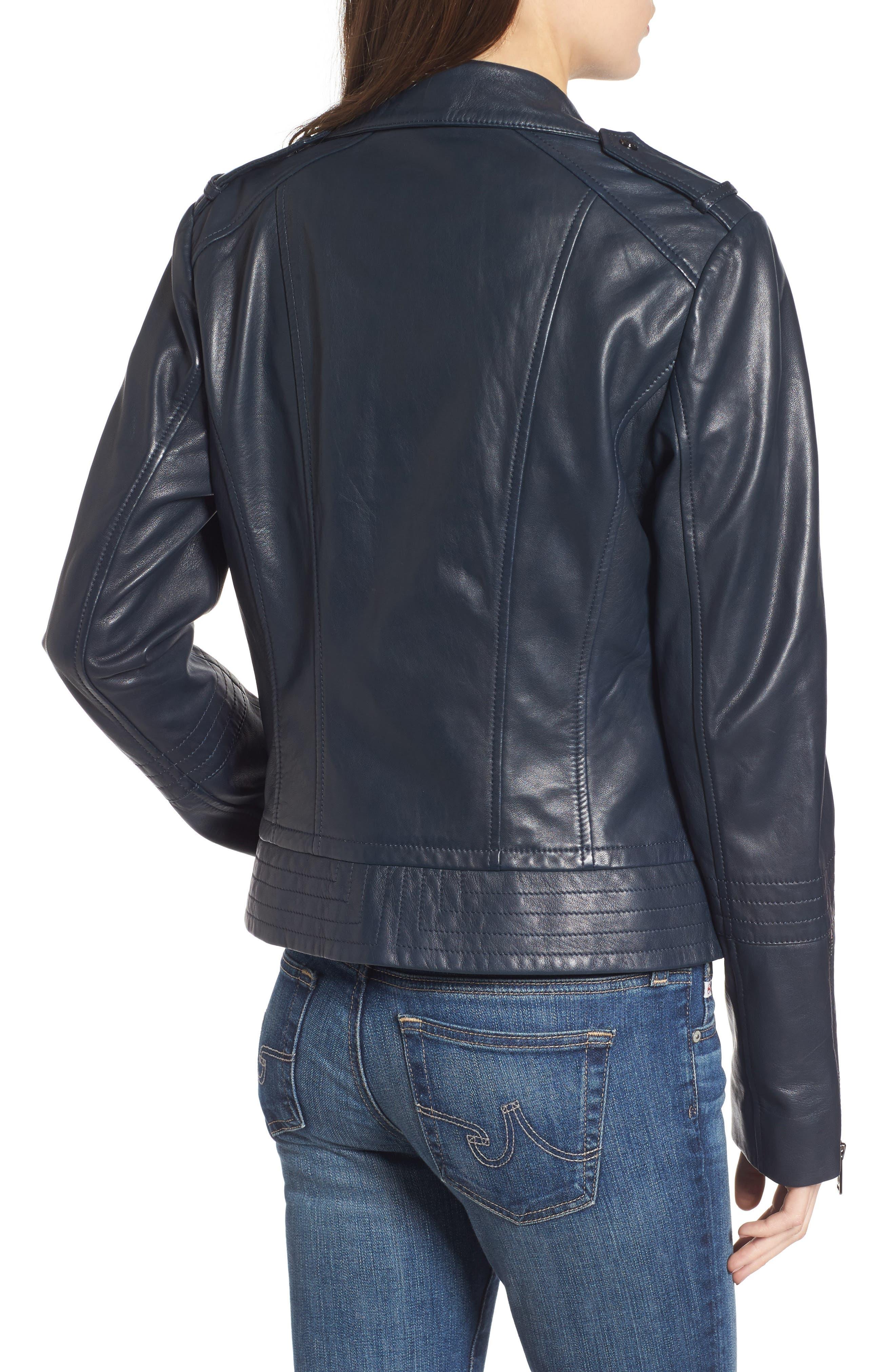 Alternate Image 2  - Bernardo Lirio Moto Jacket