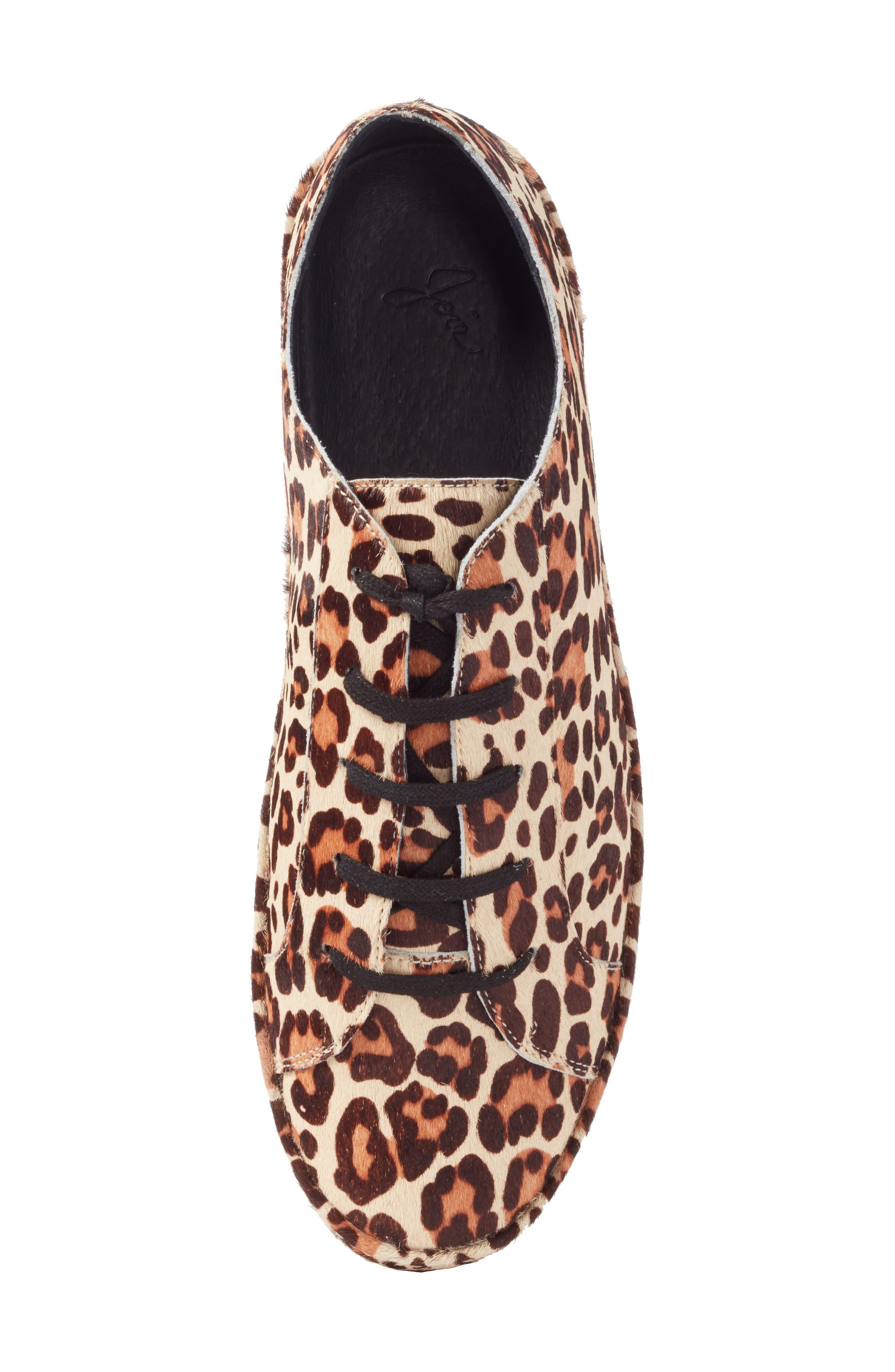 Alternate Image 5  - Joie Daryl Low Top Genuine Calf Hair Sneaker (Women)
