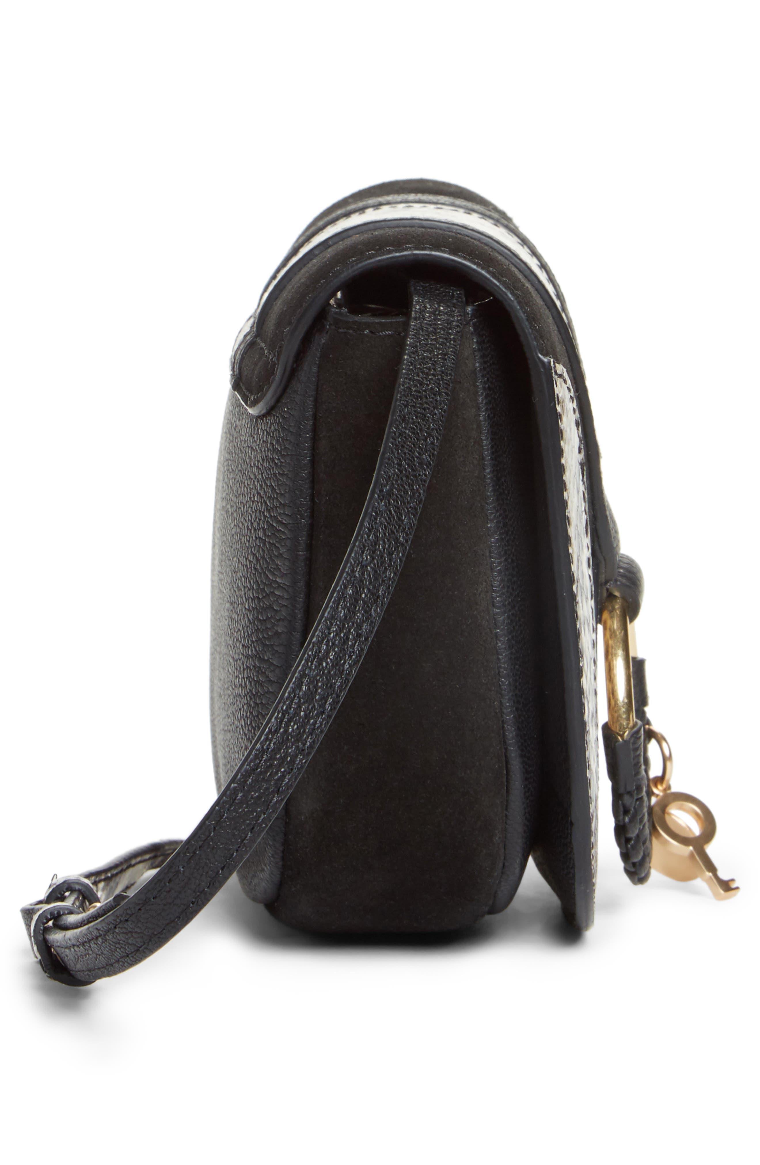 Alternate Image 5  - See by Chloé Mini Hana Leather Crossbody Bag