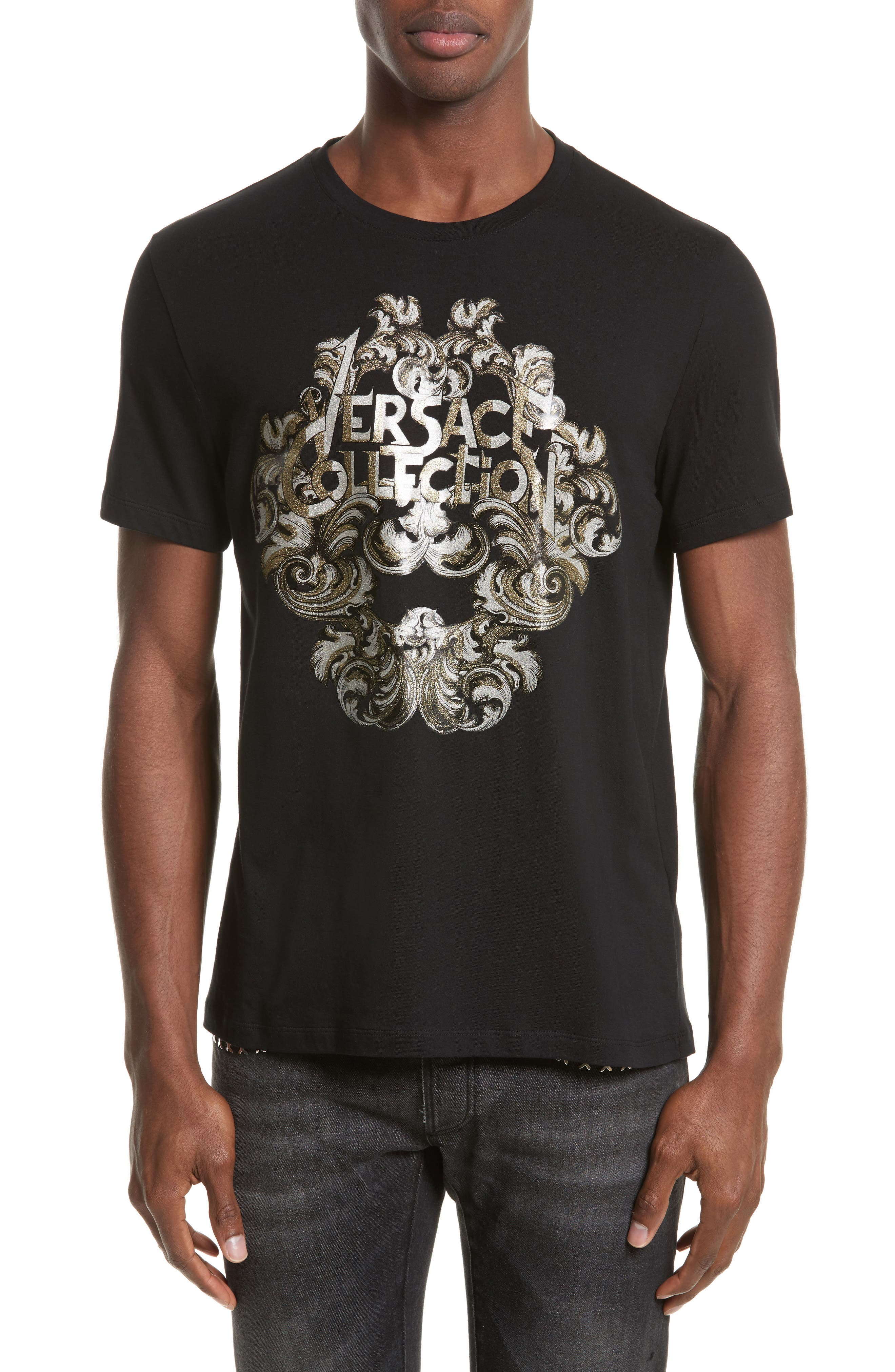 Versace Collection Logo Graphic T-Shirt