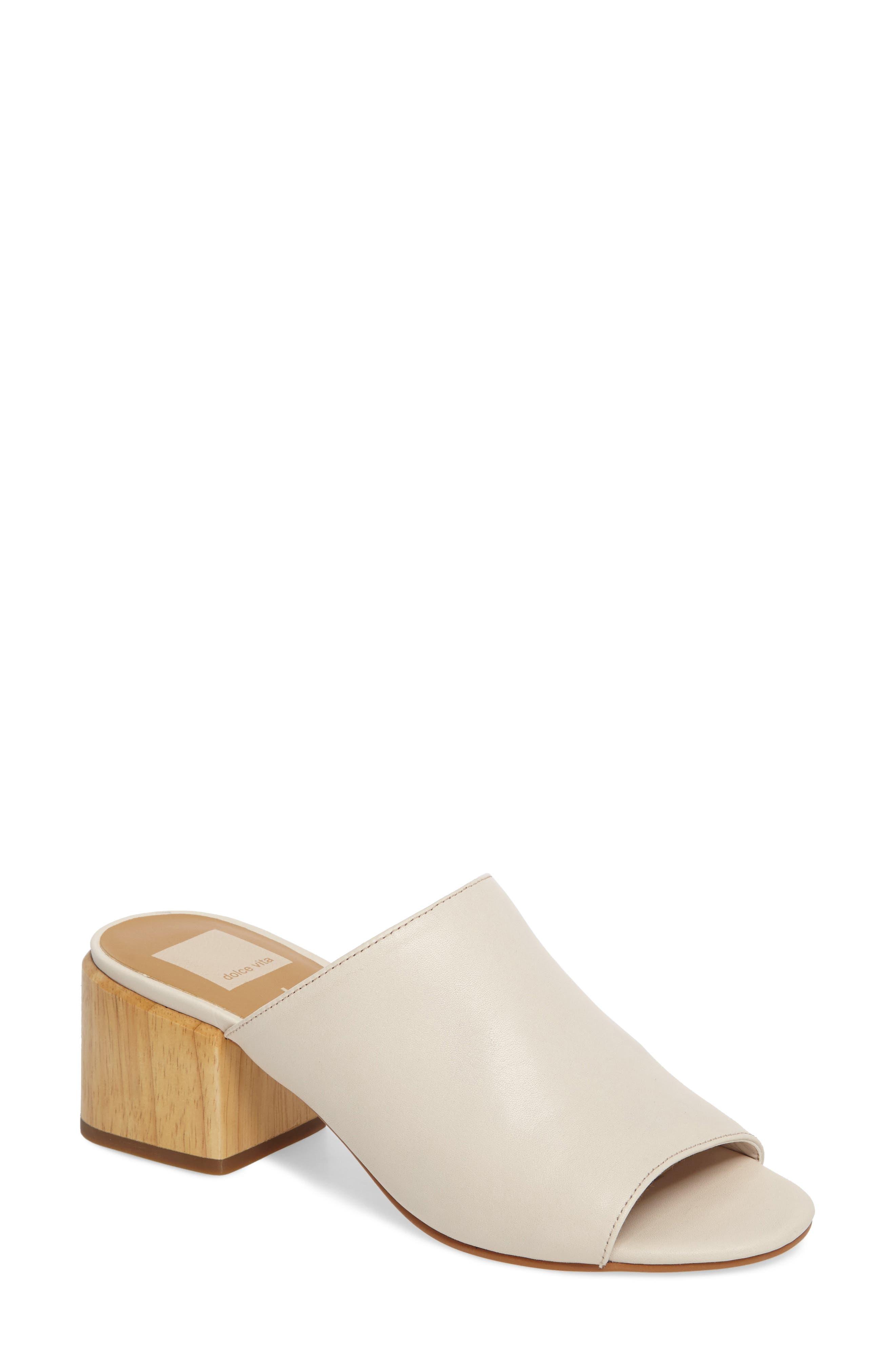 Dolce Vita Shena Block Heel Slide Sandal (Women)