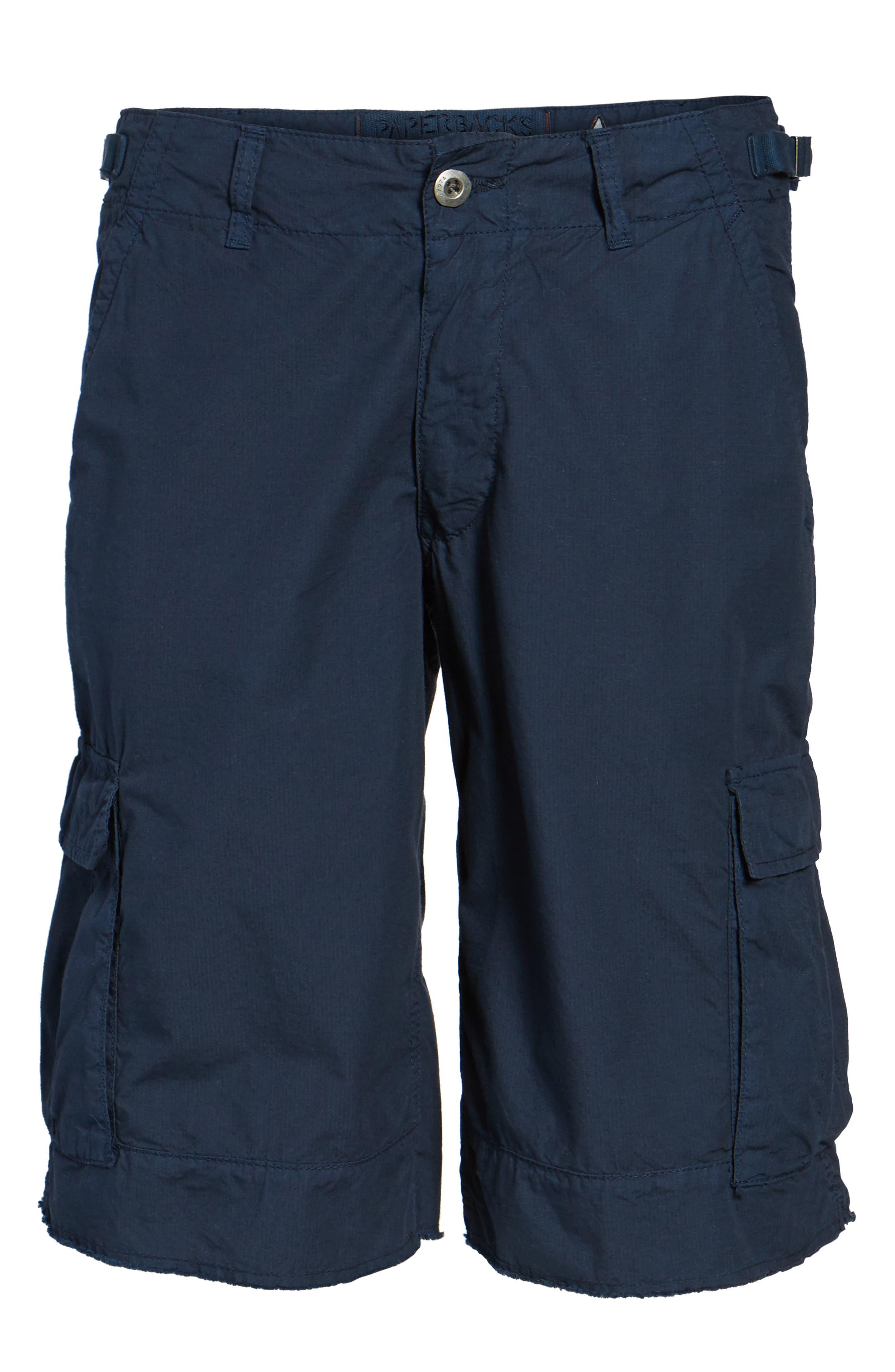 'Oxnard' Cargo Shorts,                             Alternate thumbnail 6, color,                             Navy