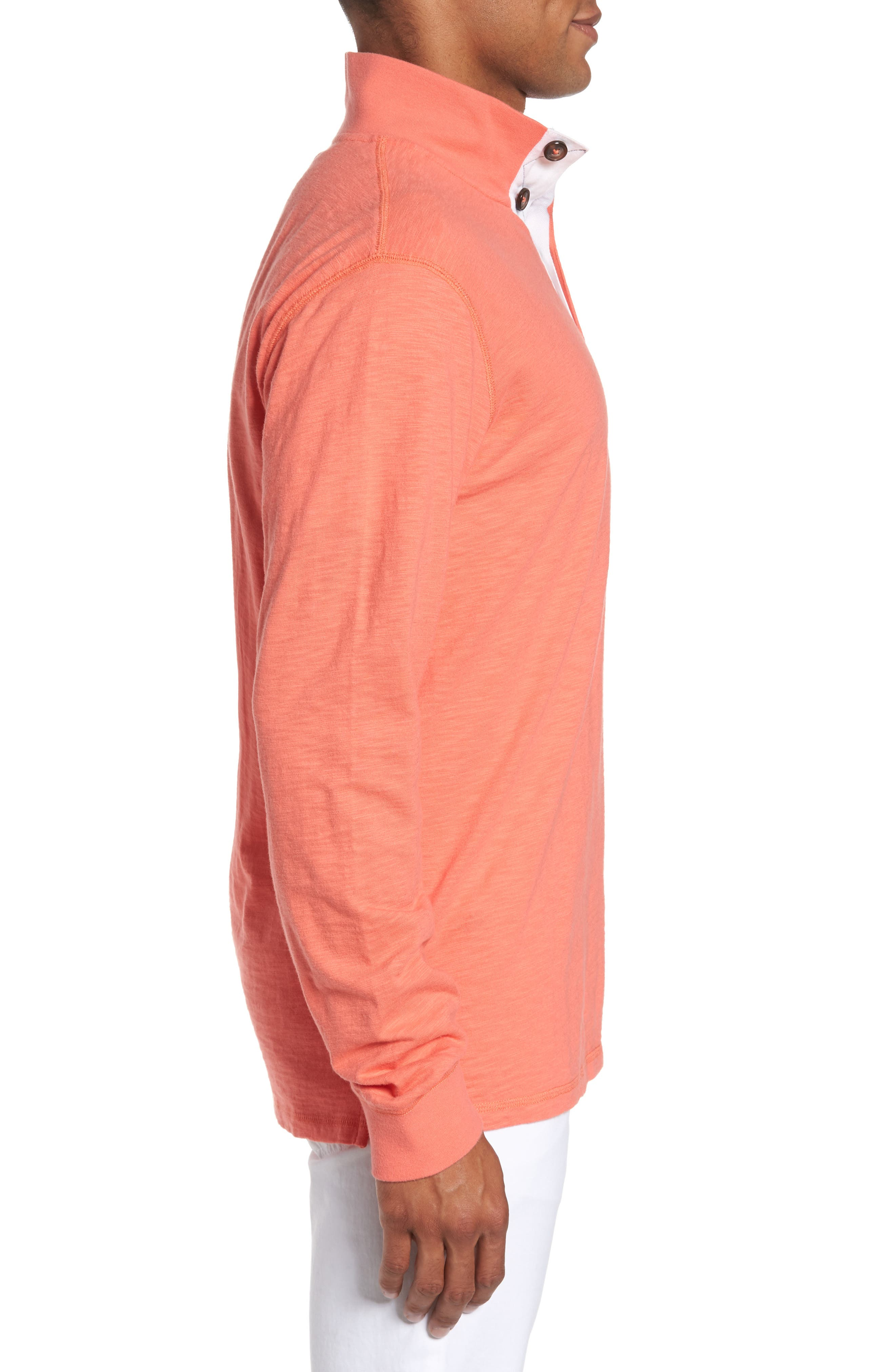 Gulf Stream Sweatshirt,                             Alternate thumbnail 3, color,                             Melon