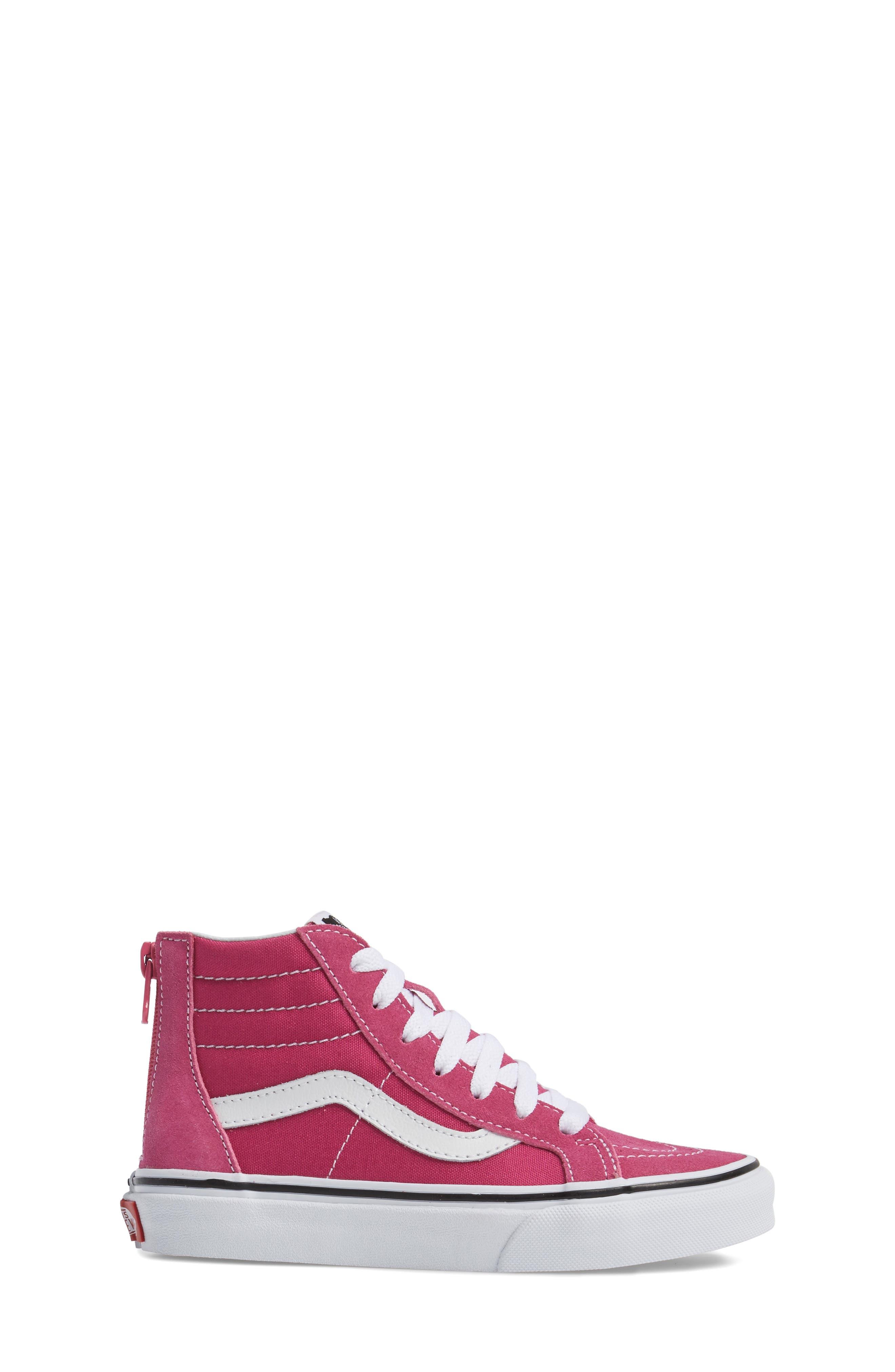 Alternate Image 8  - Vans Sk8-Hi Zip Sneaker (Baby, Walker, Toddler, Little Kid & Big Kid)
