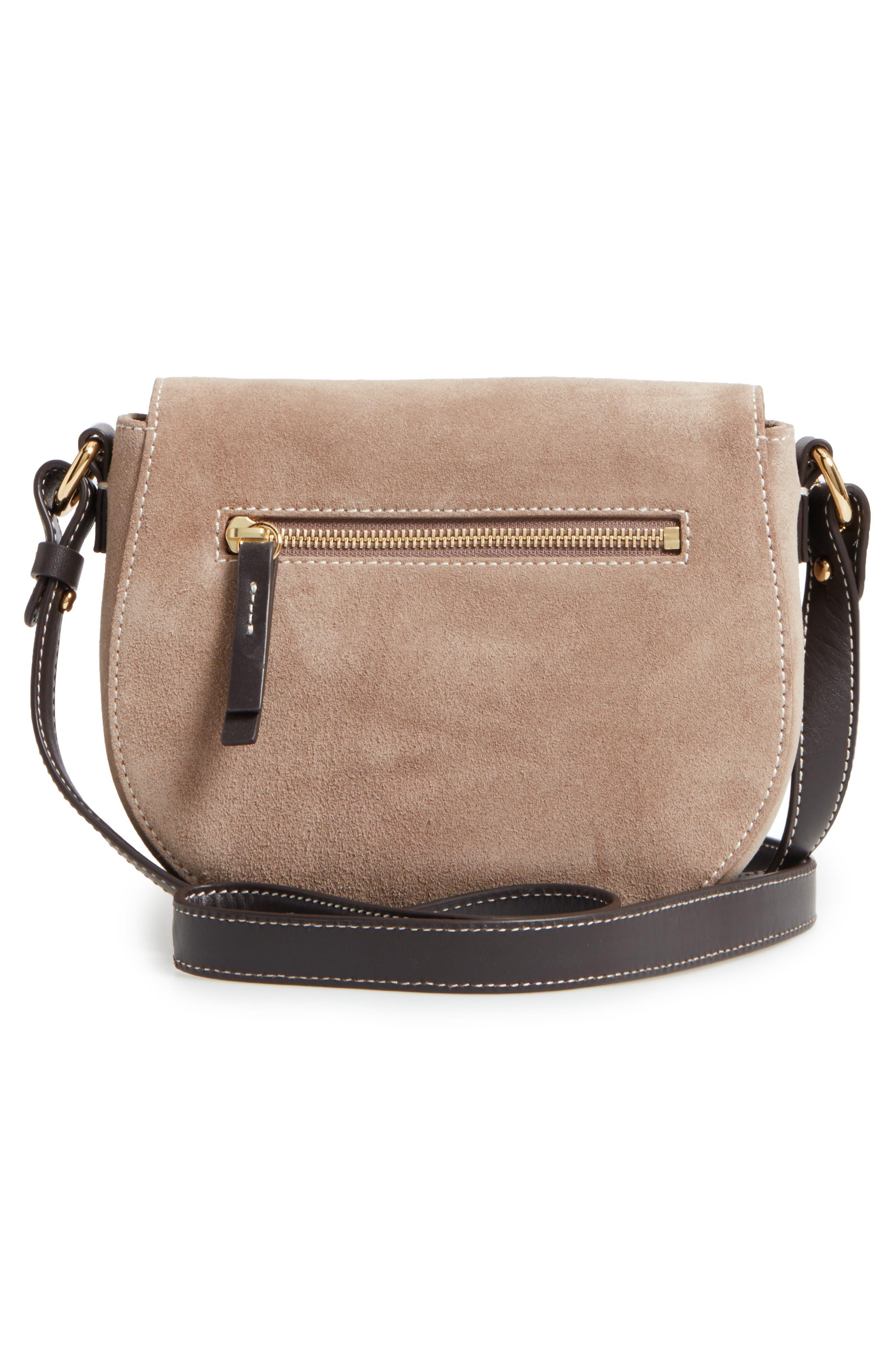 Alternate Image 3  - Frances Valentine Mini Ellen Suede Crossbody Bag