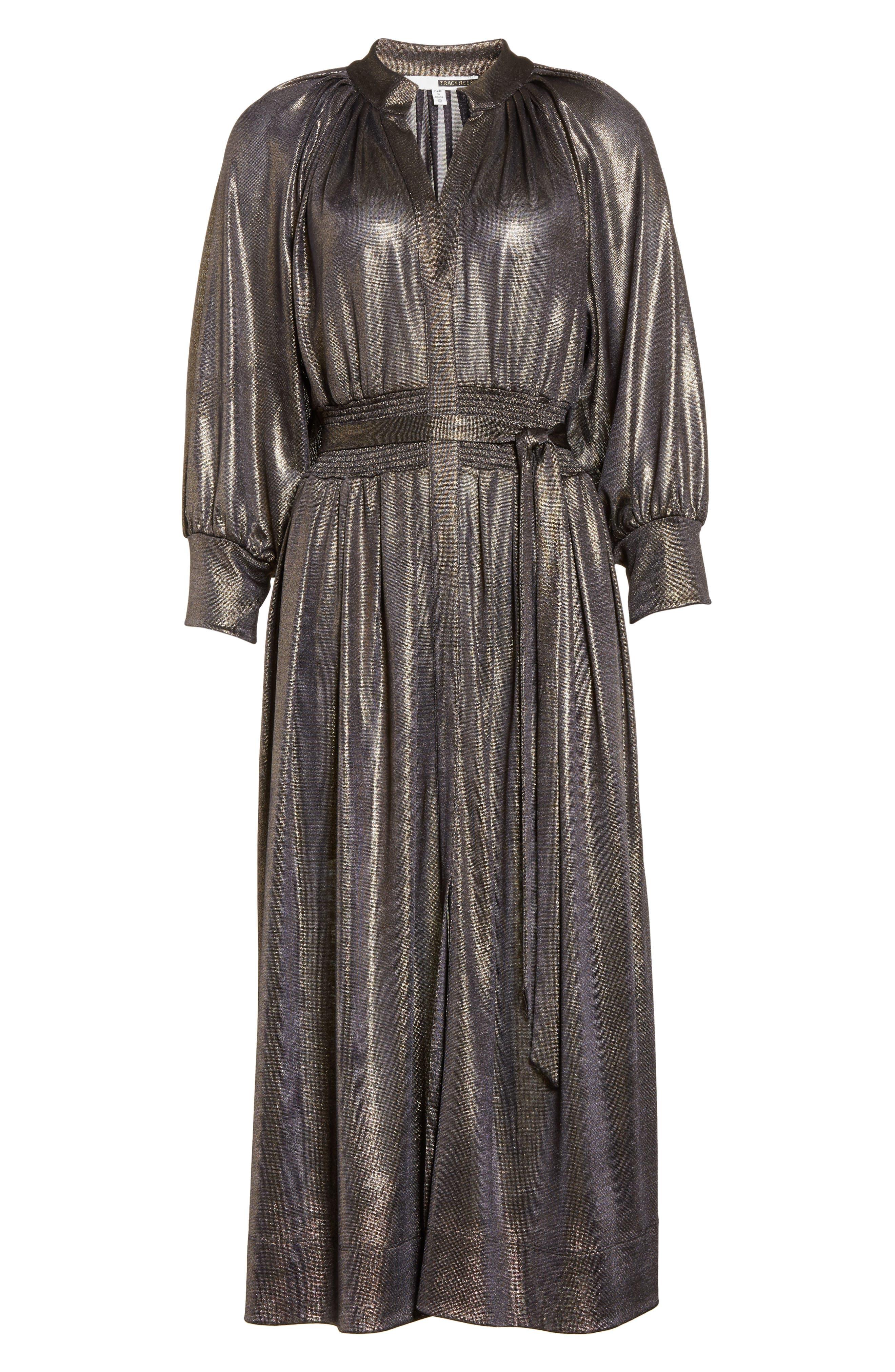 Alternate Image 6  - Tracy Reese Peasant Midi Dress