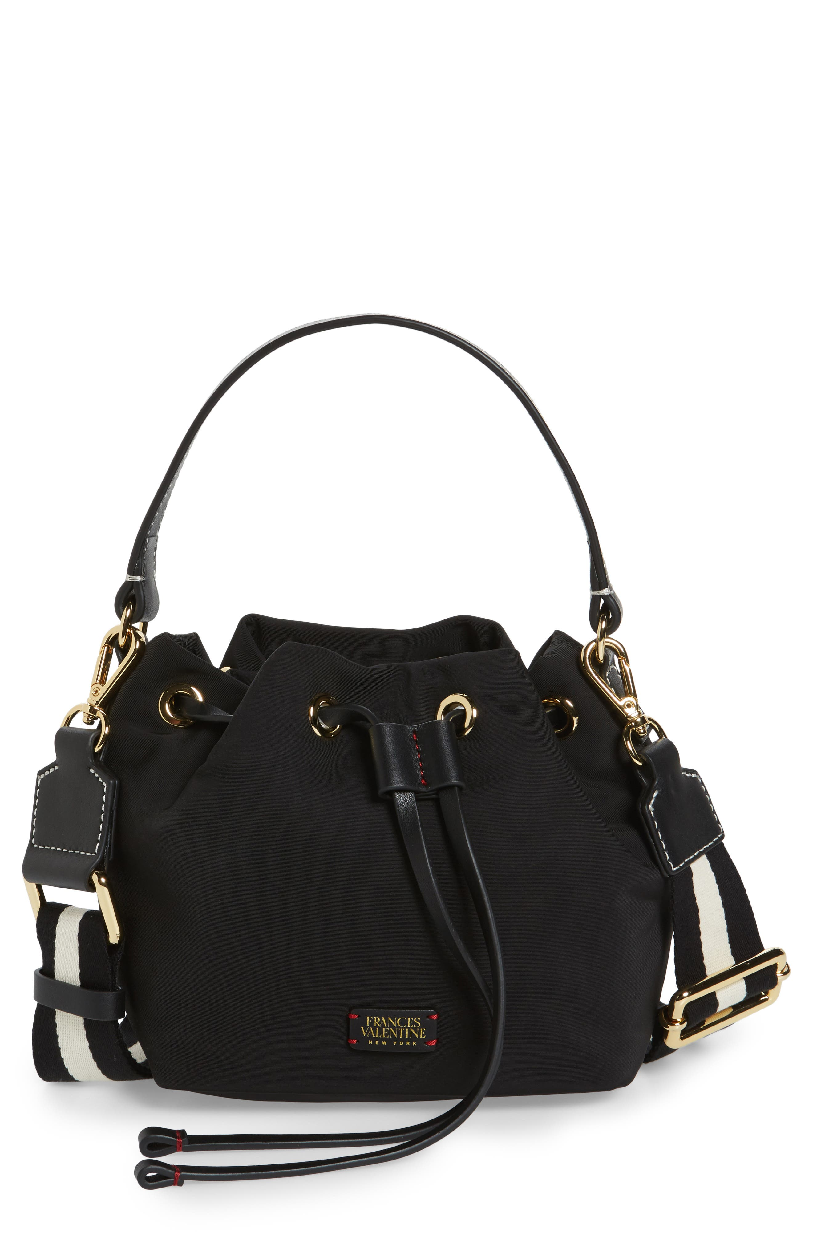 Frances Valentine Small Ann Nylon Bucket Bag