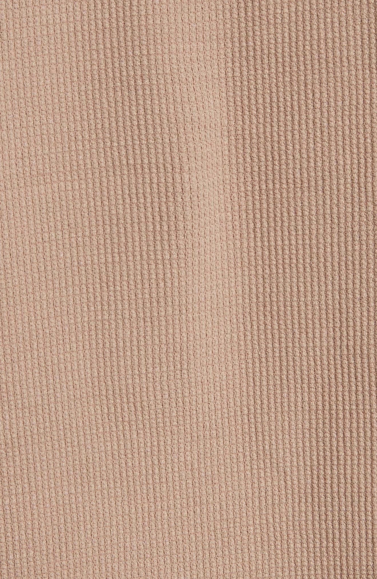 Crewneck Sweater,                             Alternate thumbnail 5, color,                             Mushroom