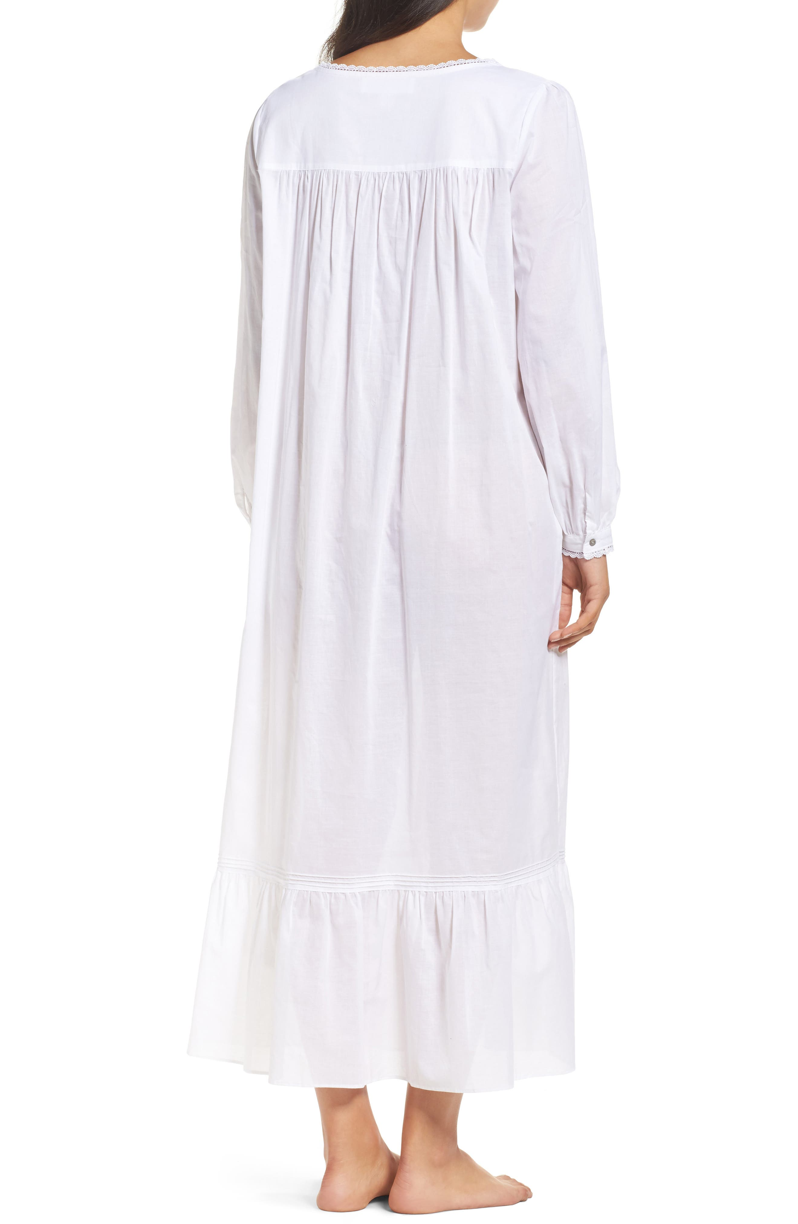 Alternate Image 2  - Eileen West Ballet Button Nightgown