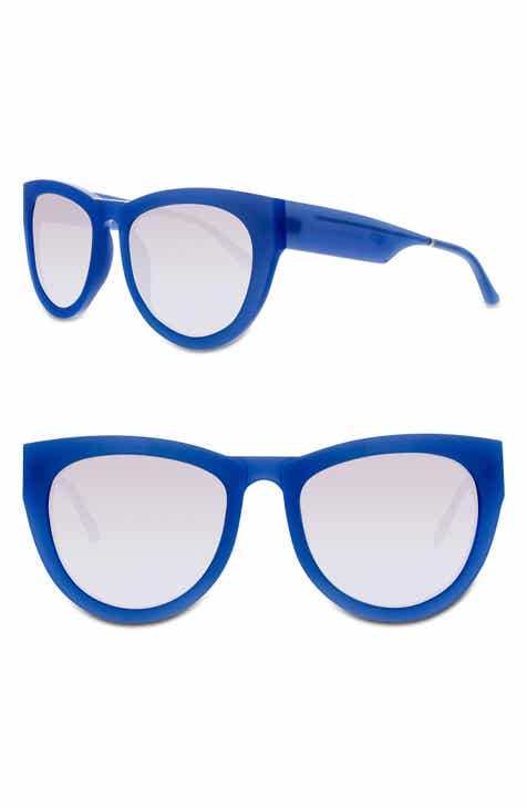 7c6b8475179 SMOKE X MIRRORS Runaround Sue 60mm Cat Eye Sunglasses