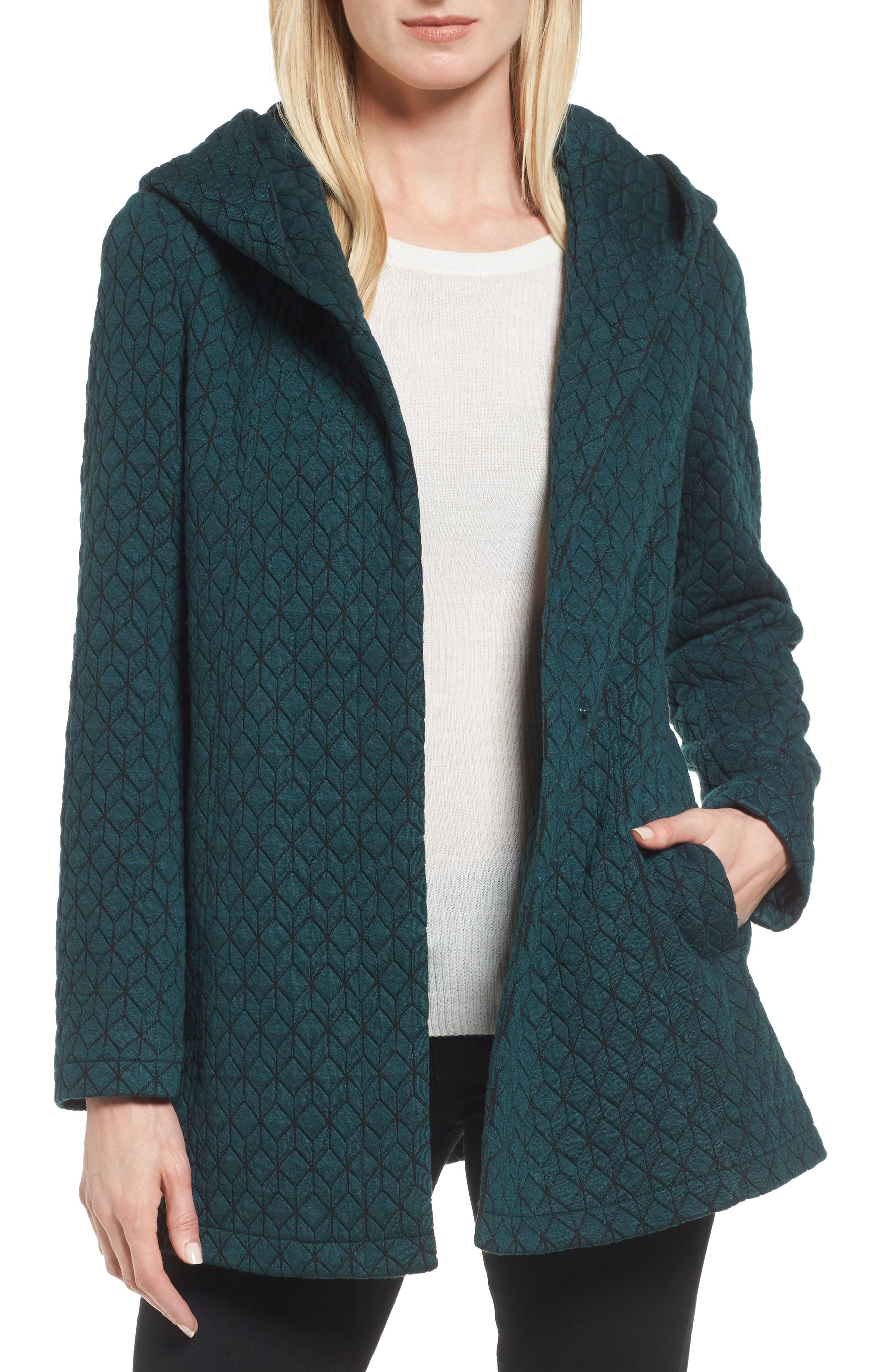 Main Image - Gallery Cozy Knit Coat