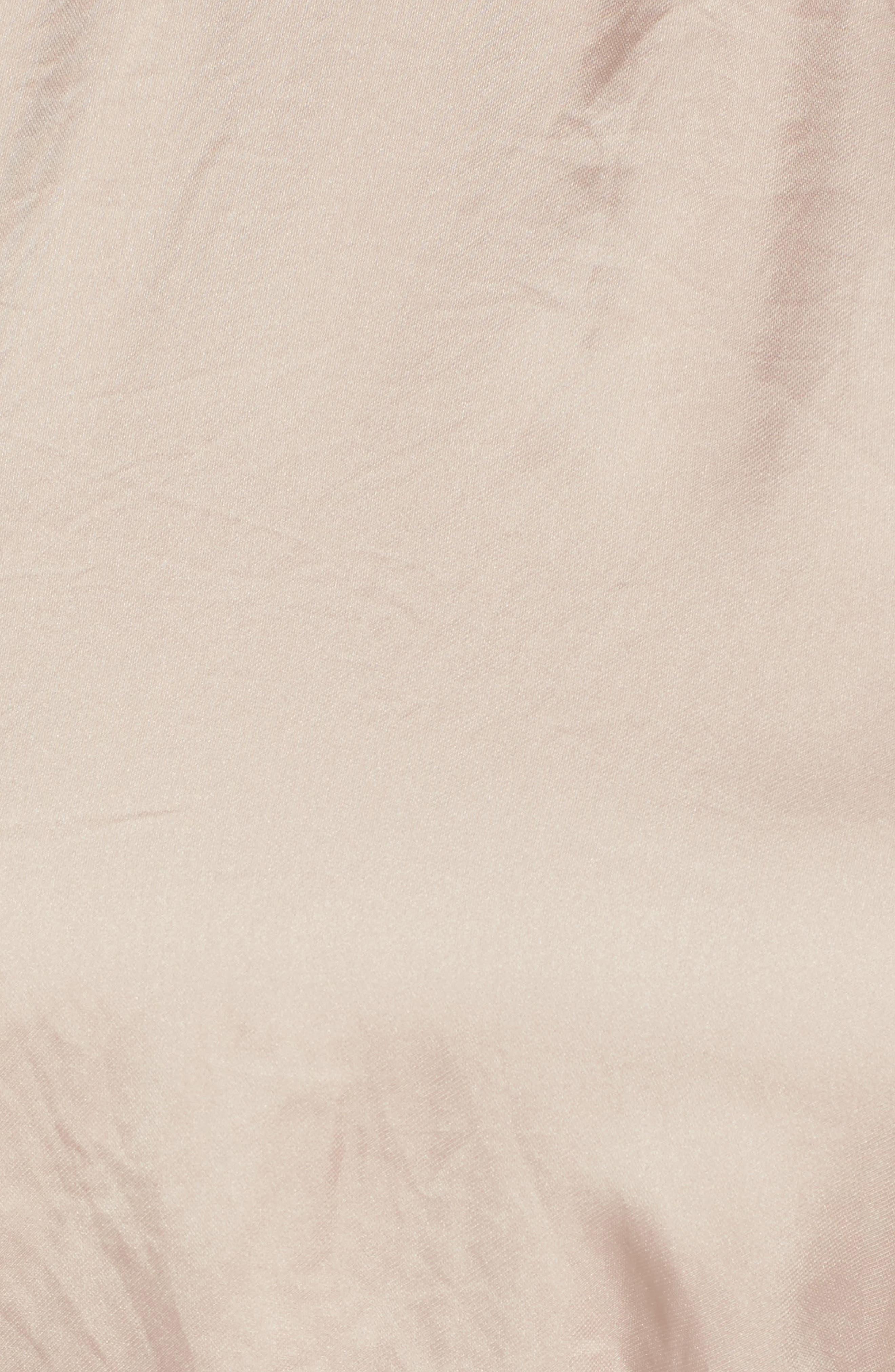 Alternate Image 5  - ASTR the Label Satin Midi Dress