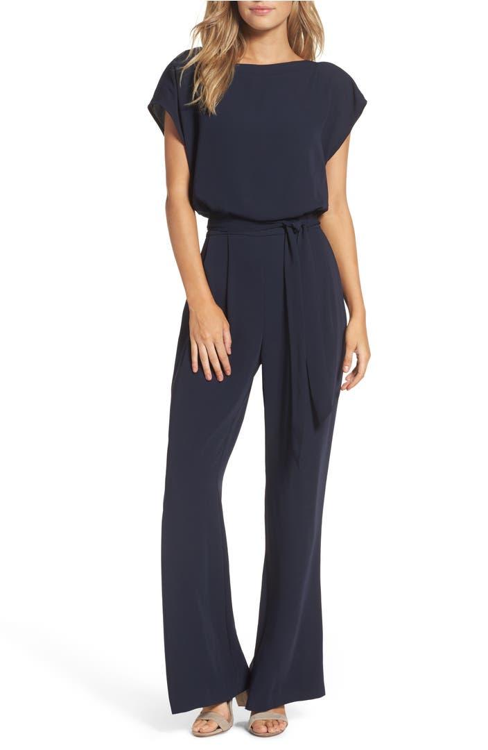 Nordstrom: Eliza J Cap Sleeve Jumpsuit