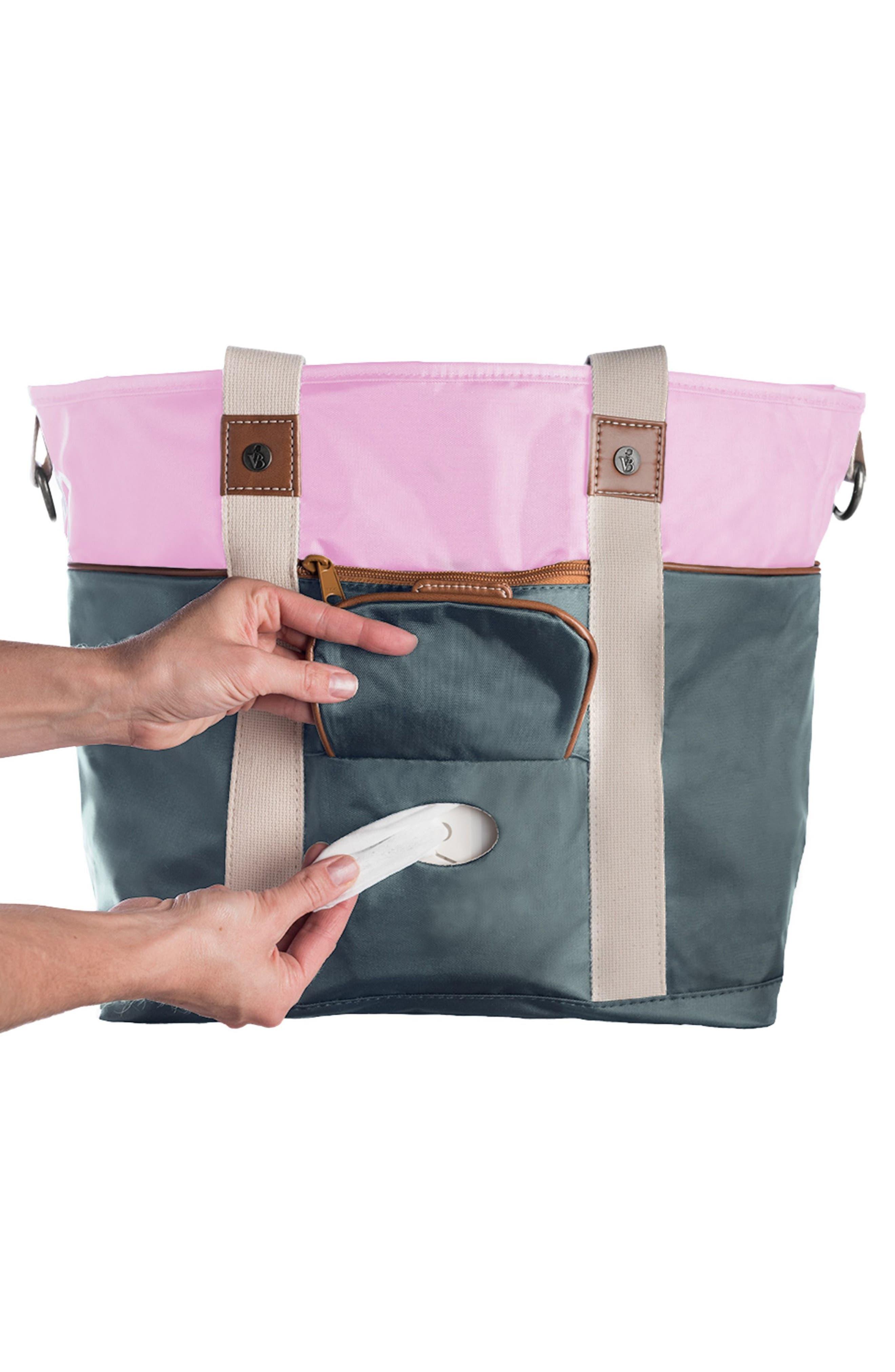 Alternate Image 4  - Vilah Bloom Harbor Side Tote Diaper Bag